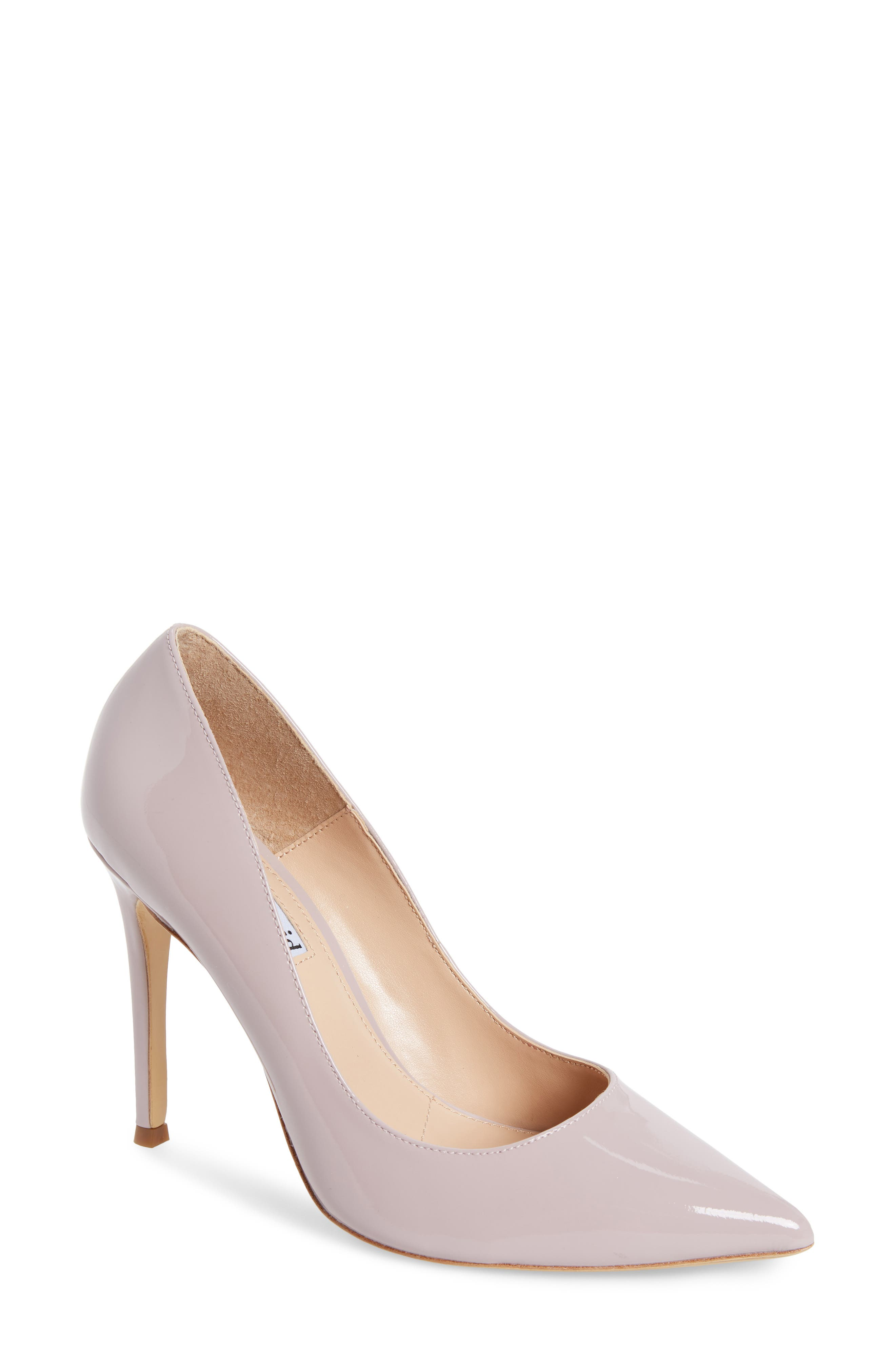 Calessi Pointy Toe Pump,                             Main thumbnail 1, color,                             LAVENDER PATENT LEATHER