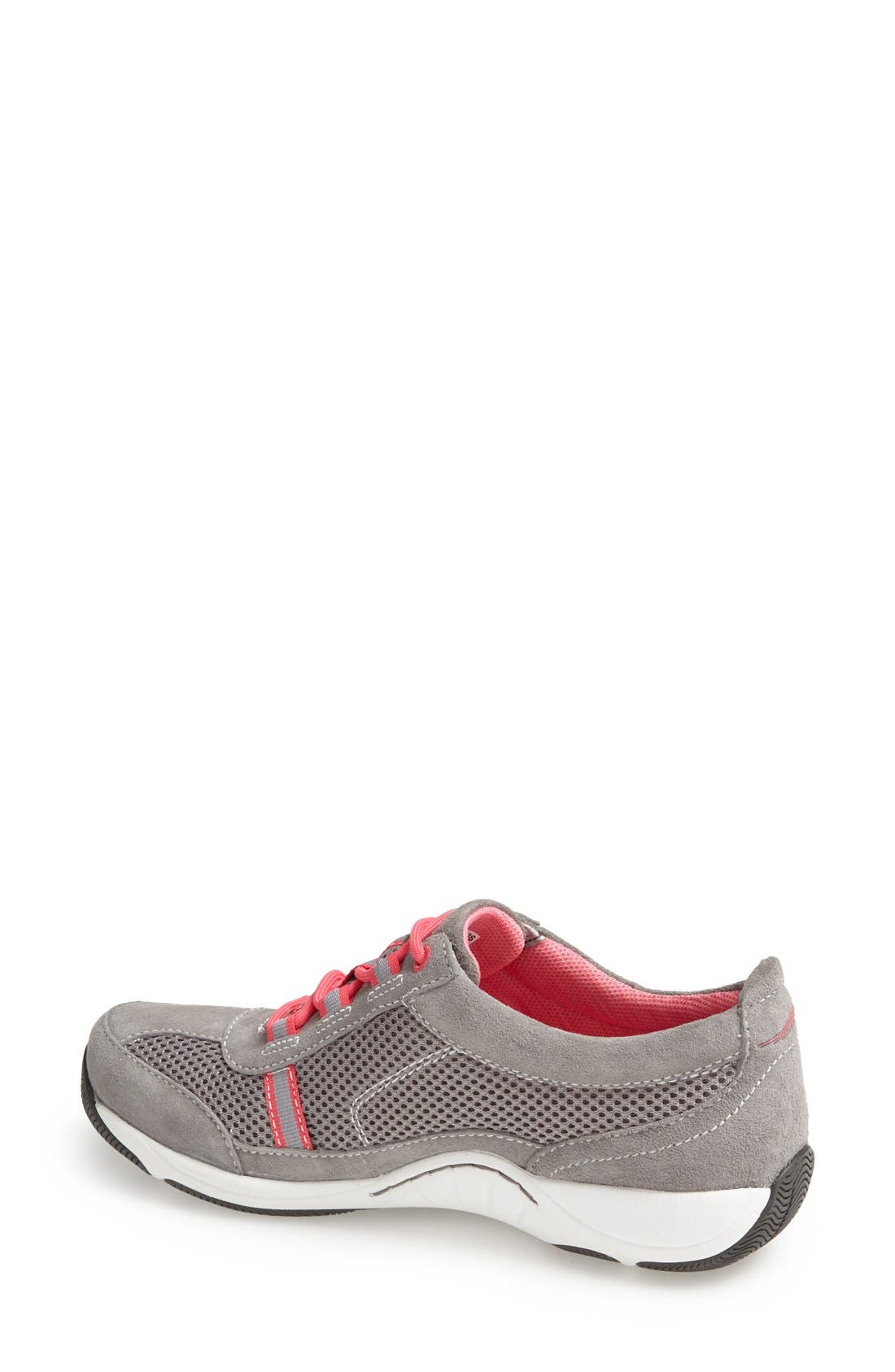 'Helen' Suede & Mesh Sneaker,                             Alternate thumbnail 79, color,