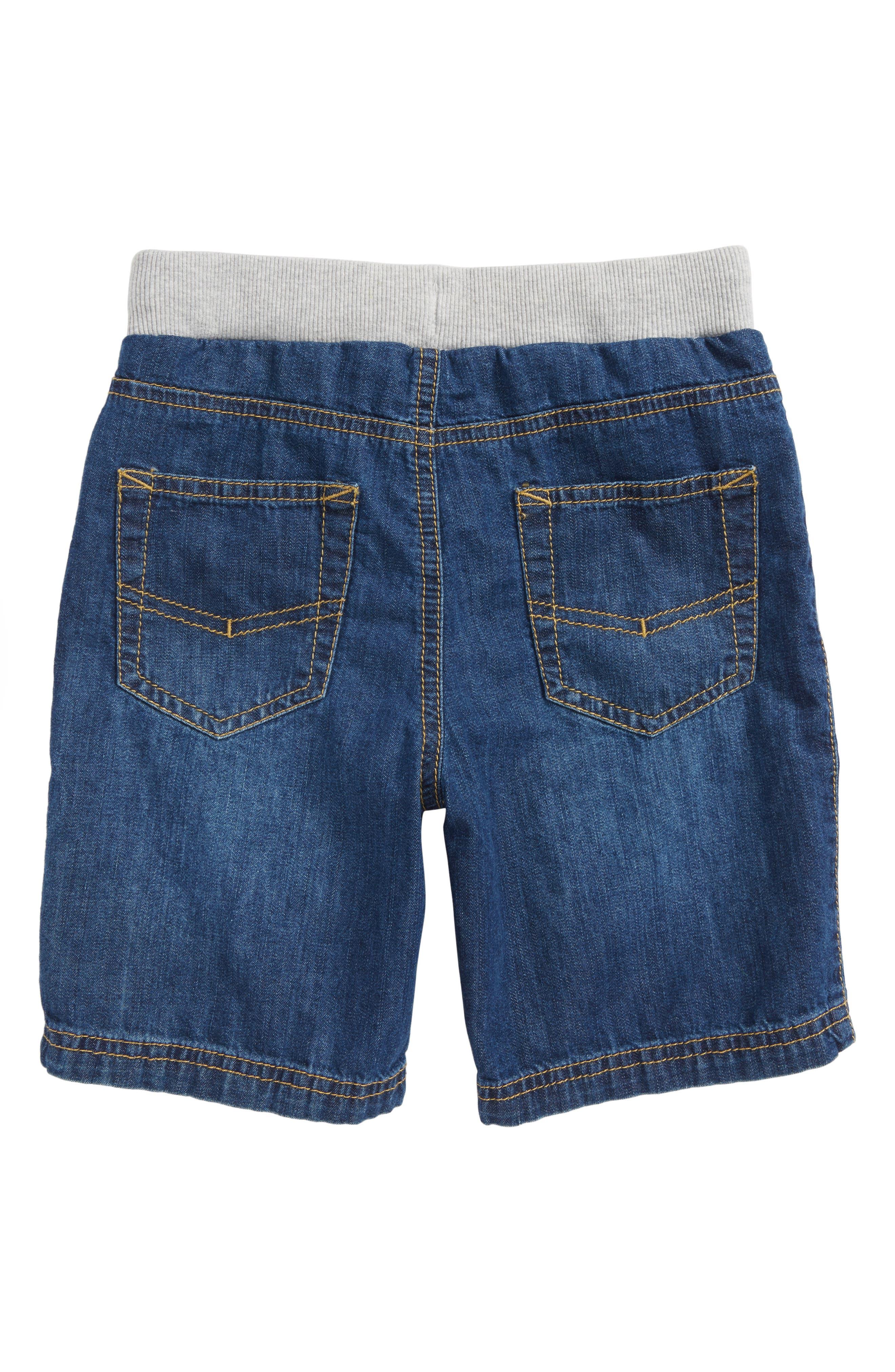 Denim Shorts,                             Alternate thumbnail 2, color,