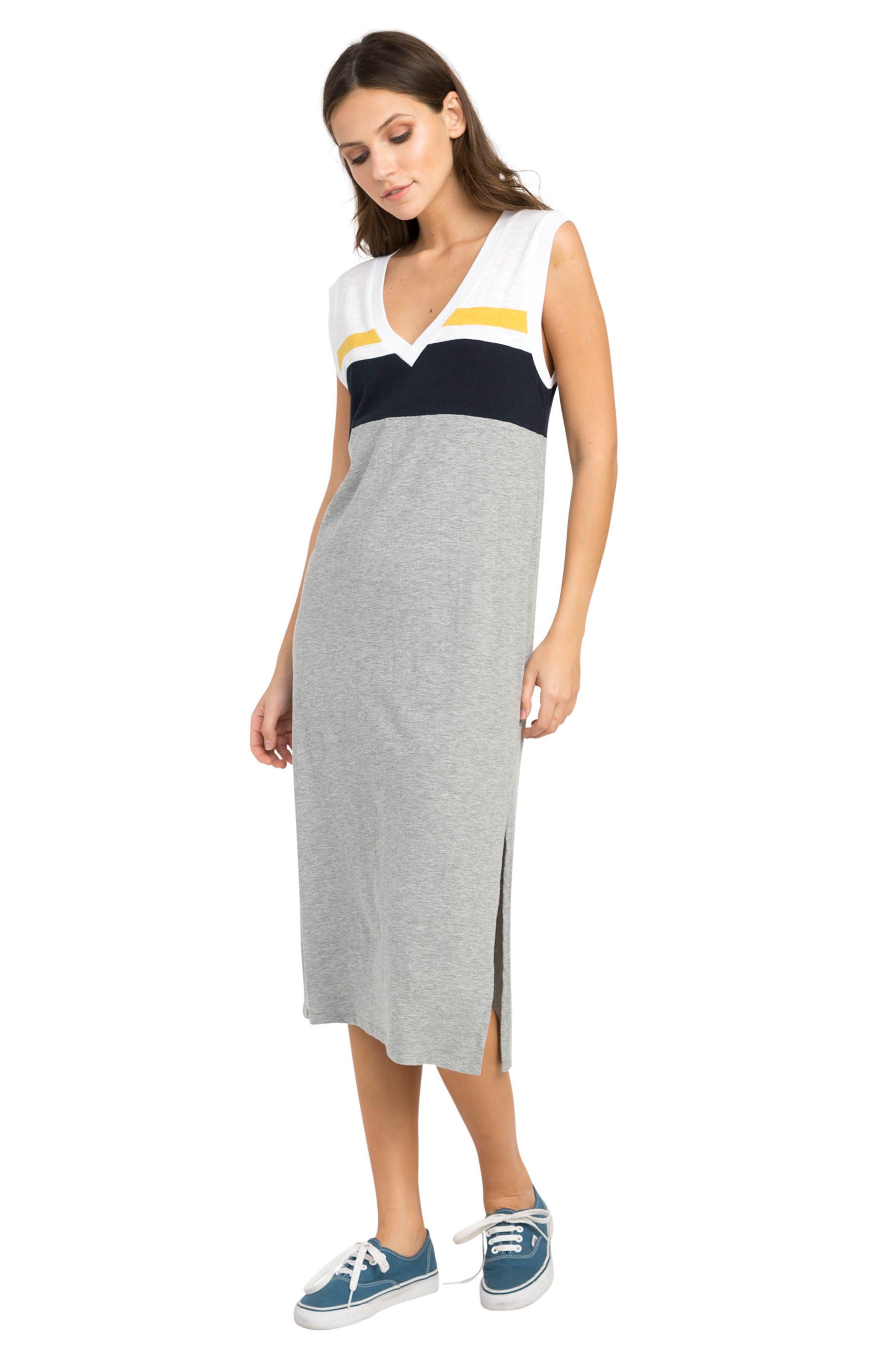 Scorekeeper Midi Dress,                             Alternate thumbnail 4, color,                             054