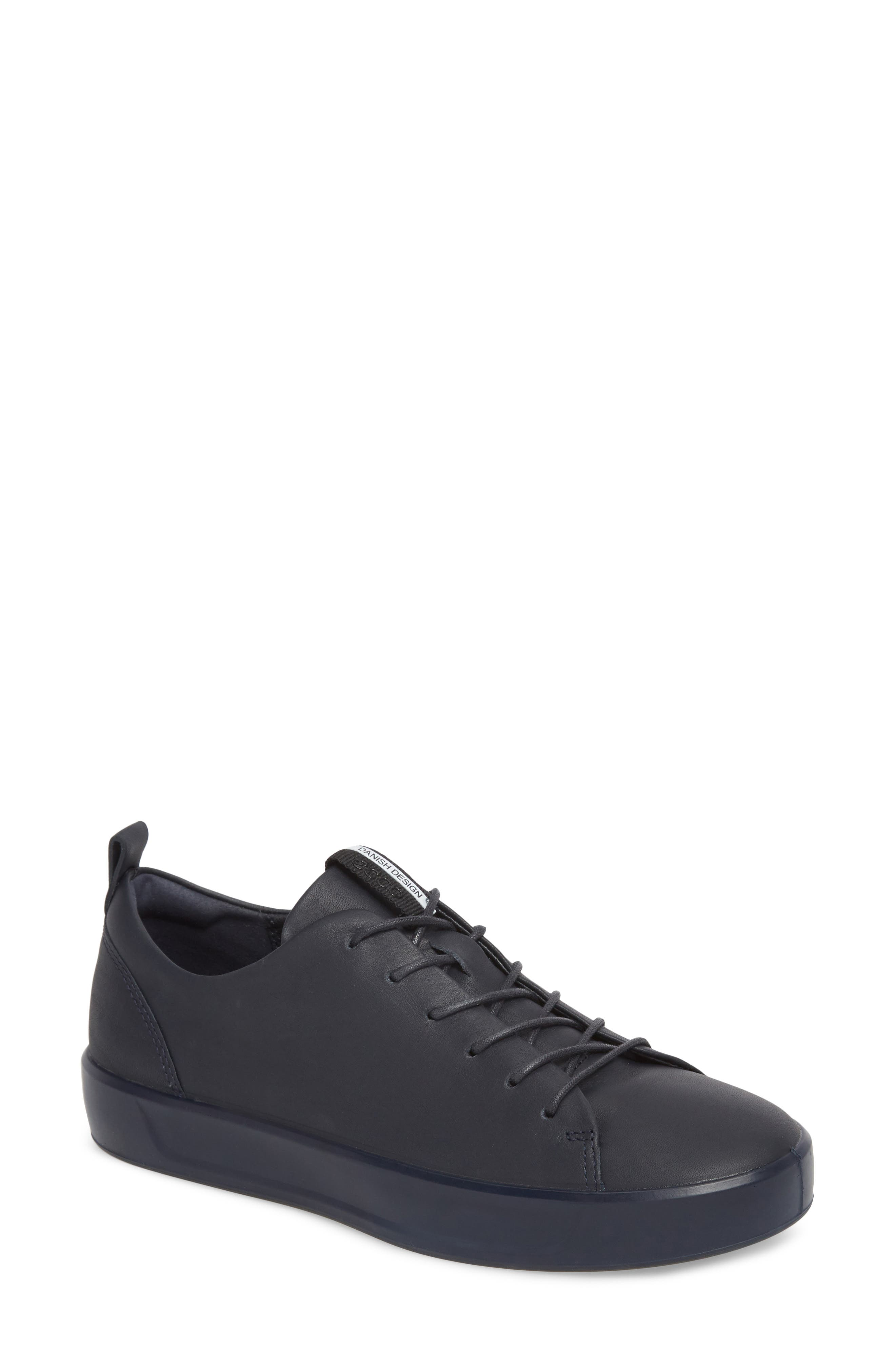 Soft 8 Sneaker,                             Main thumbnail 1, color,                             NIGHT SKY LEATHER