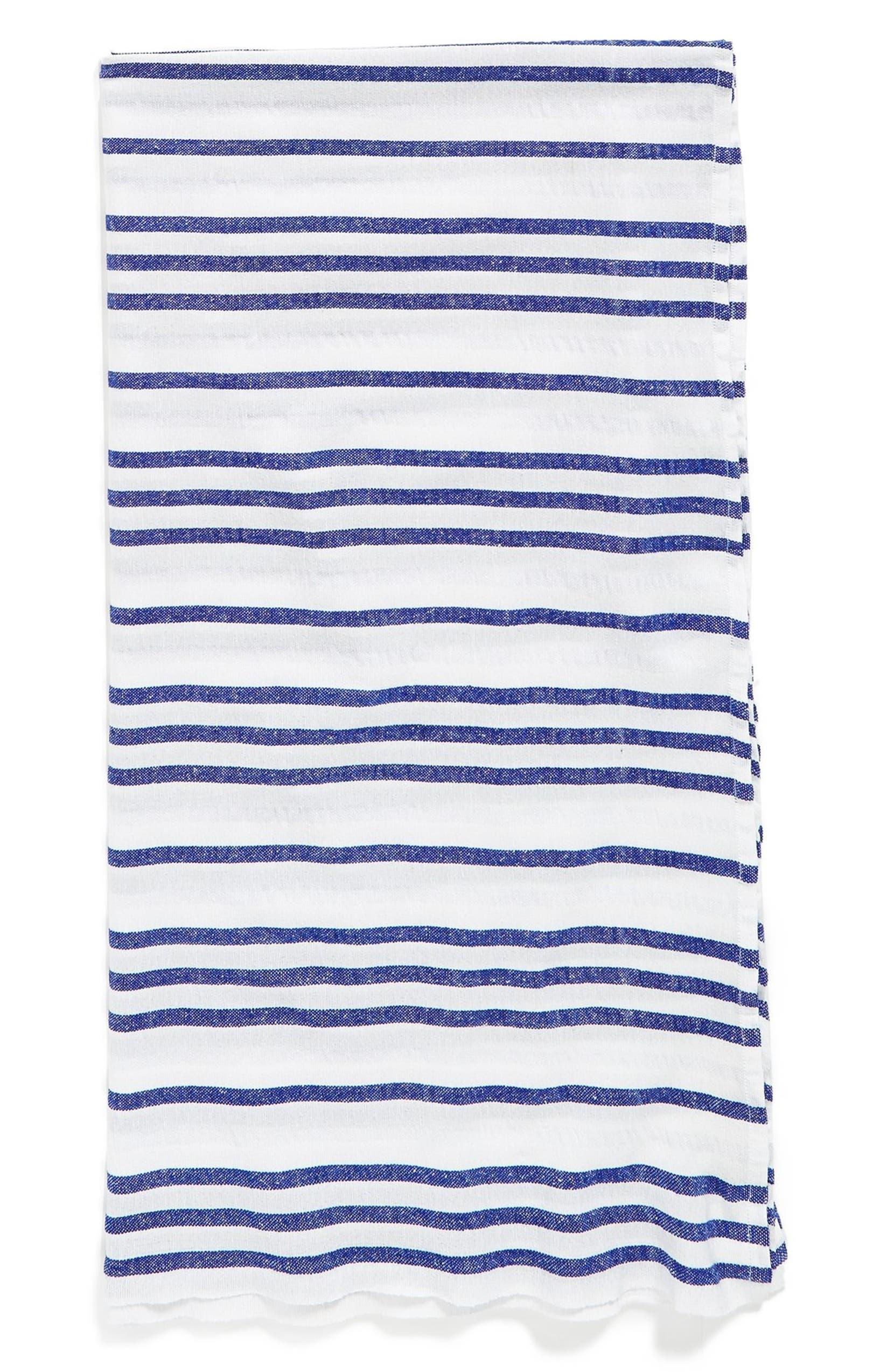 Las Bayadas Stripe Cotton Blend Beach Blanket  2a798f051
