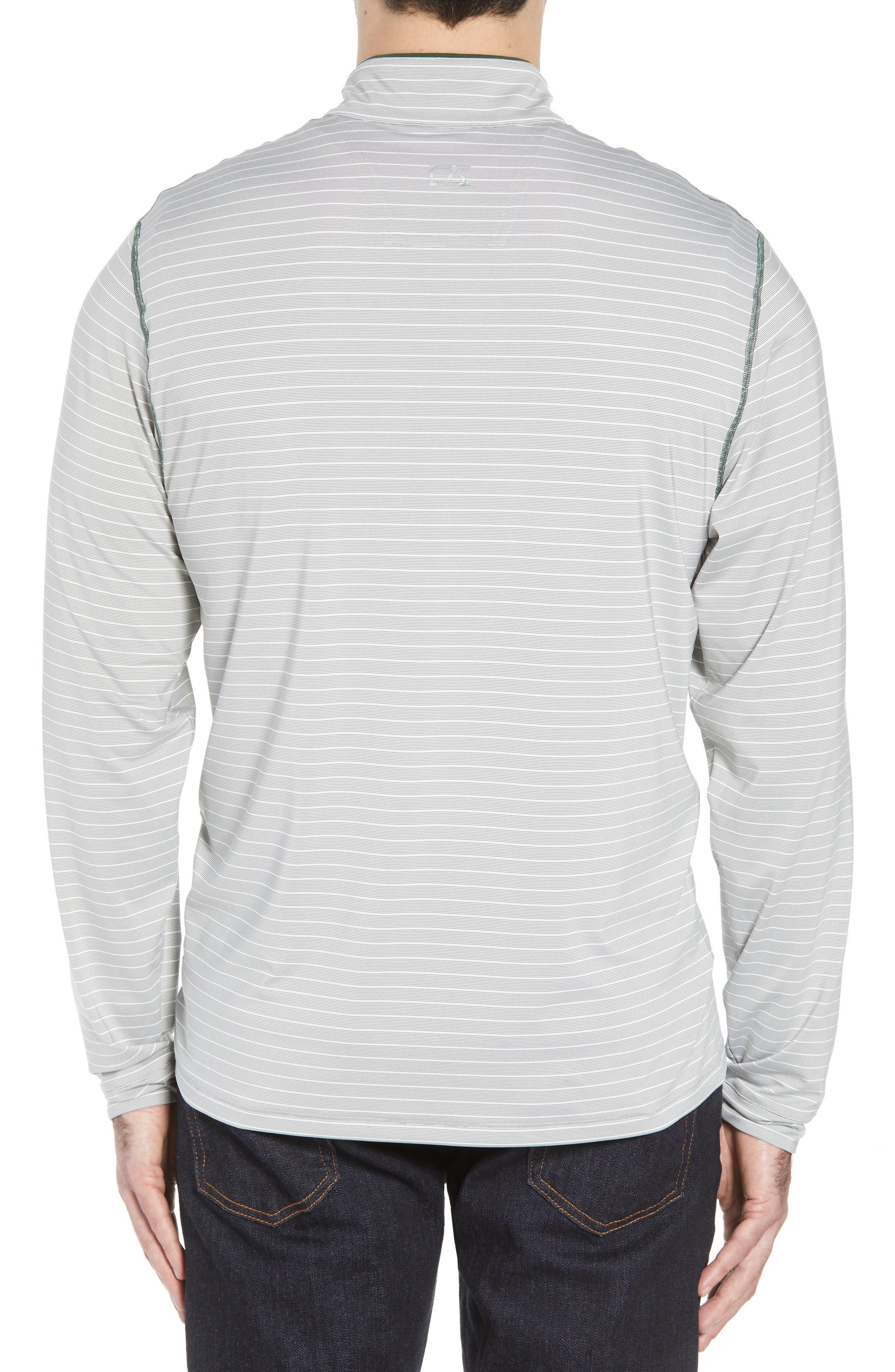 Meridian - Philadelphia Eagles Regular Fit Half Zip Pullover,                             Alternate thumbnail 2, color,                             377