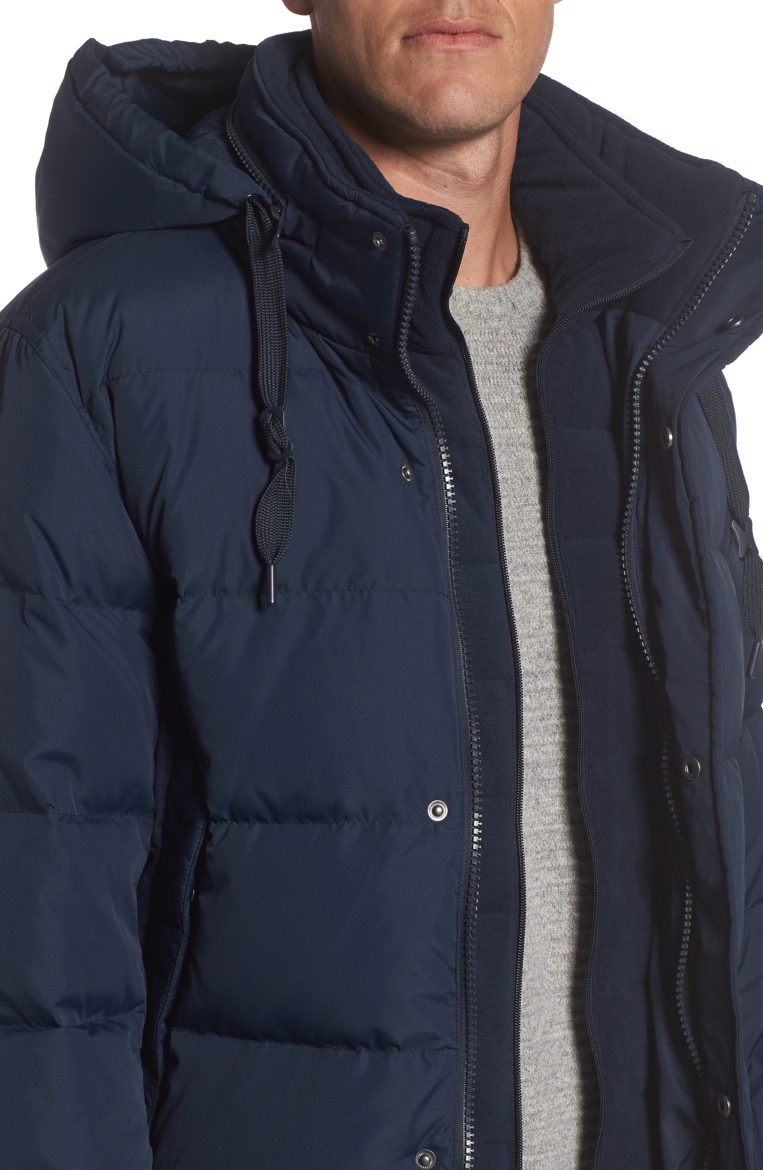 Andrew Marc Carlton Quilted Parka,                             Alternate thumbnail 16, color,