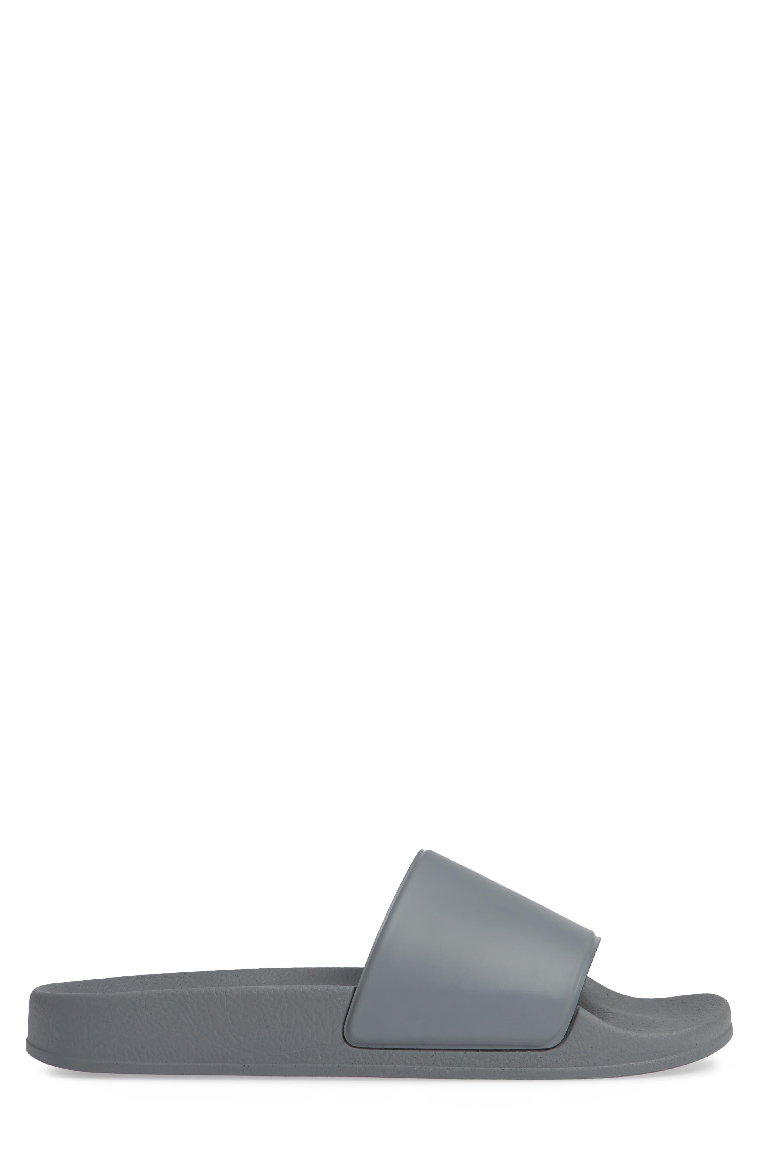 Bondi Slide Sandal,                             Alternate thumbnail 3, color,                             GREY