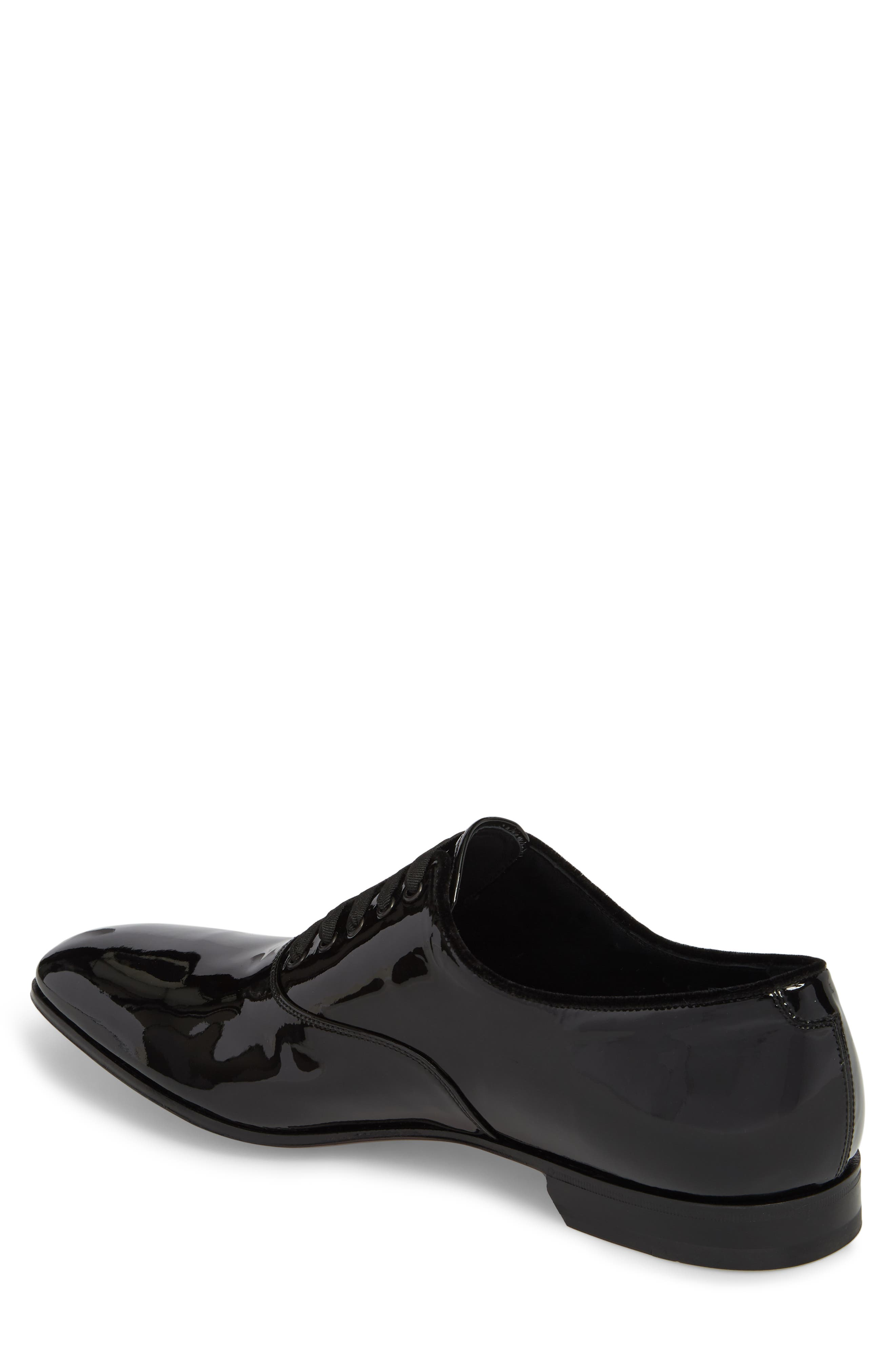 Belshaw Patent Oxford,                             Alternate thumbnail 2, color,                             NERO PATENT LEATHER