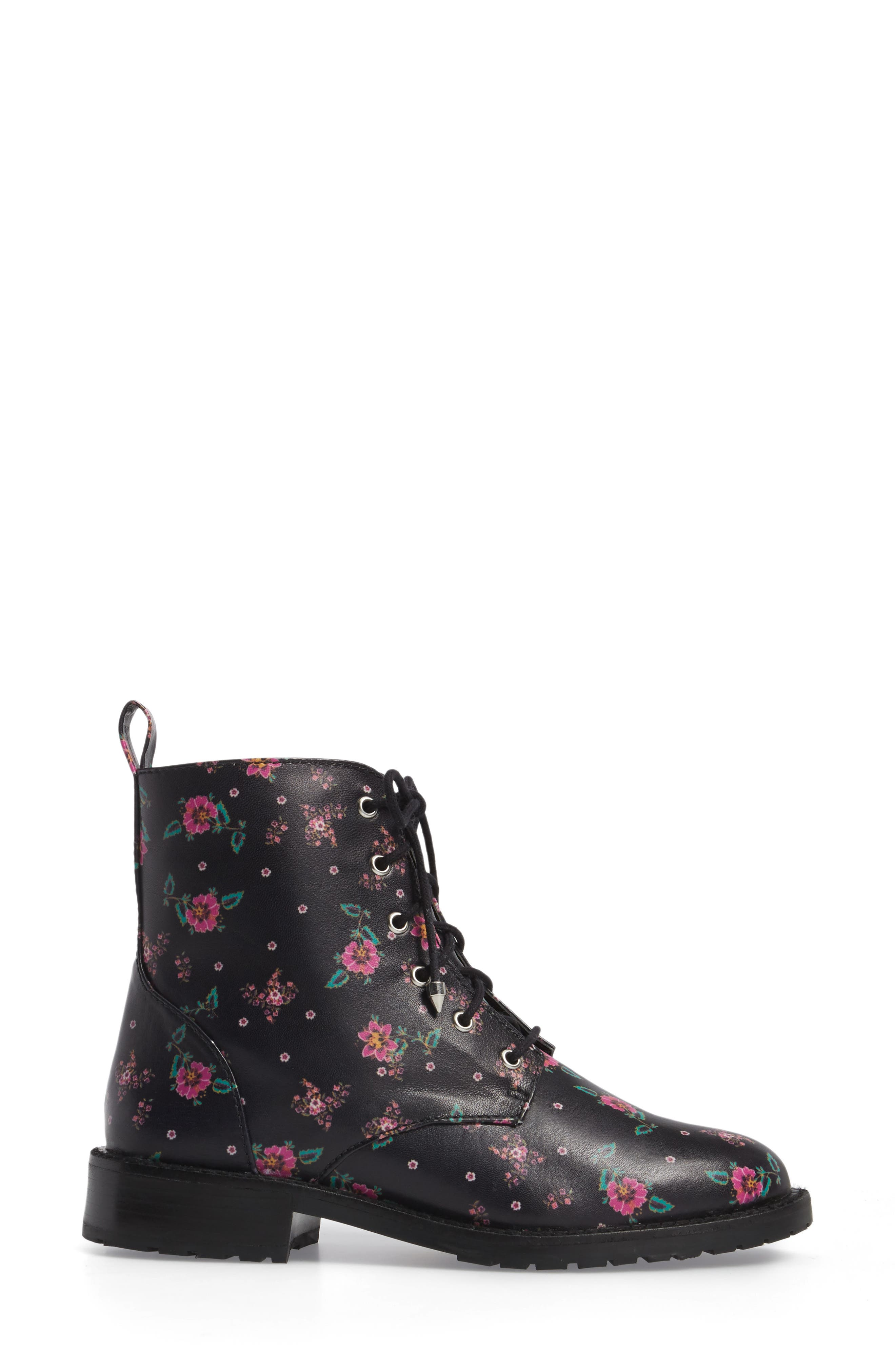 Gerry Lace-Up Boot,                             Alternate thumbnail 3, color,                             001