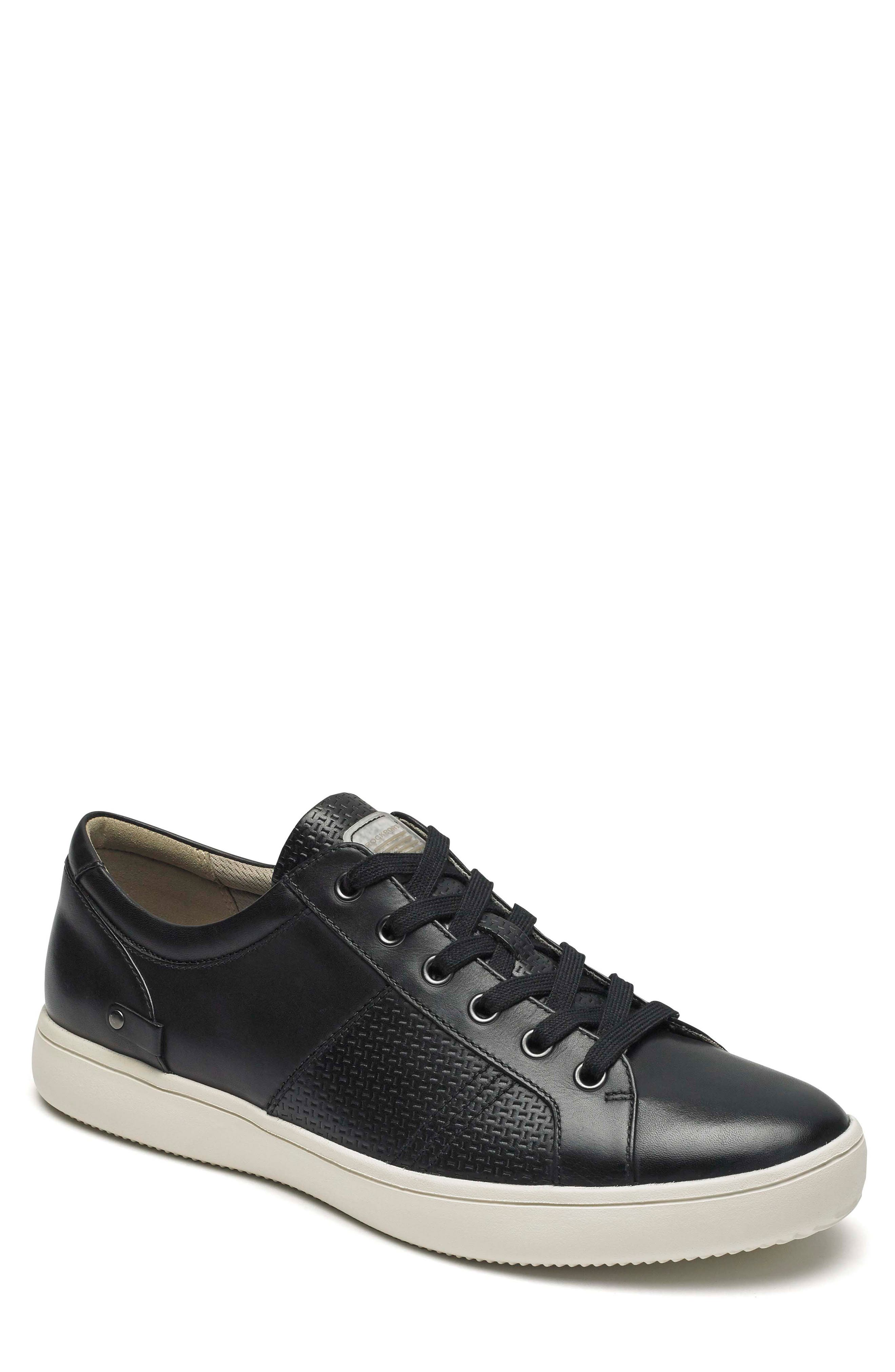 City Lites Collection Lace-Up Sneaker,                             Main thumbnail 1, color,                             001