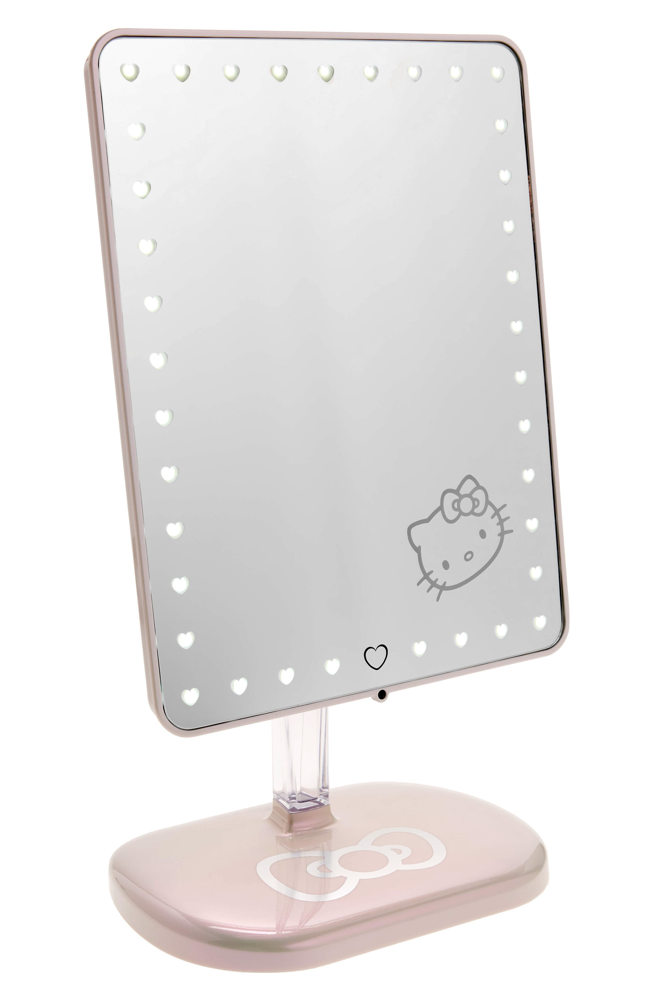 Hello Kitty Edition Touch Pro LED Makeup Mirror with Bluetooth<sup>®</sup> Audio & Speakerphone,                         Main,                         color, 100