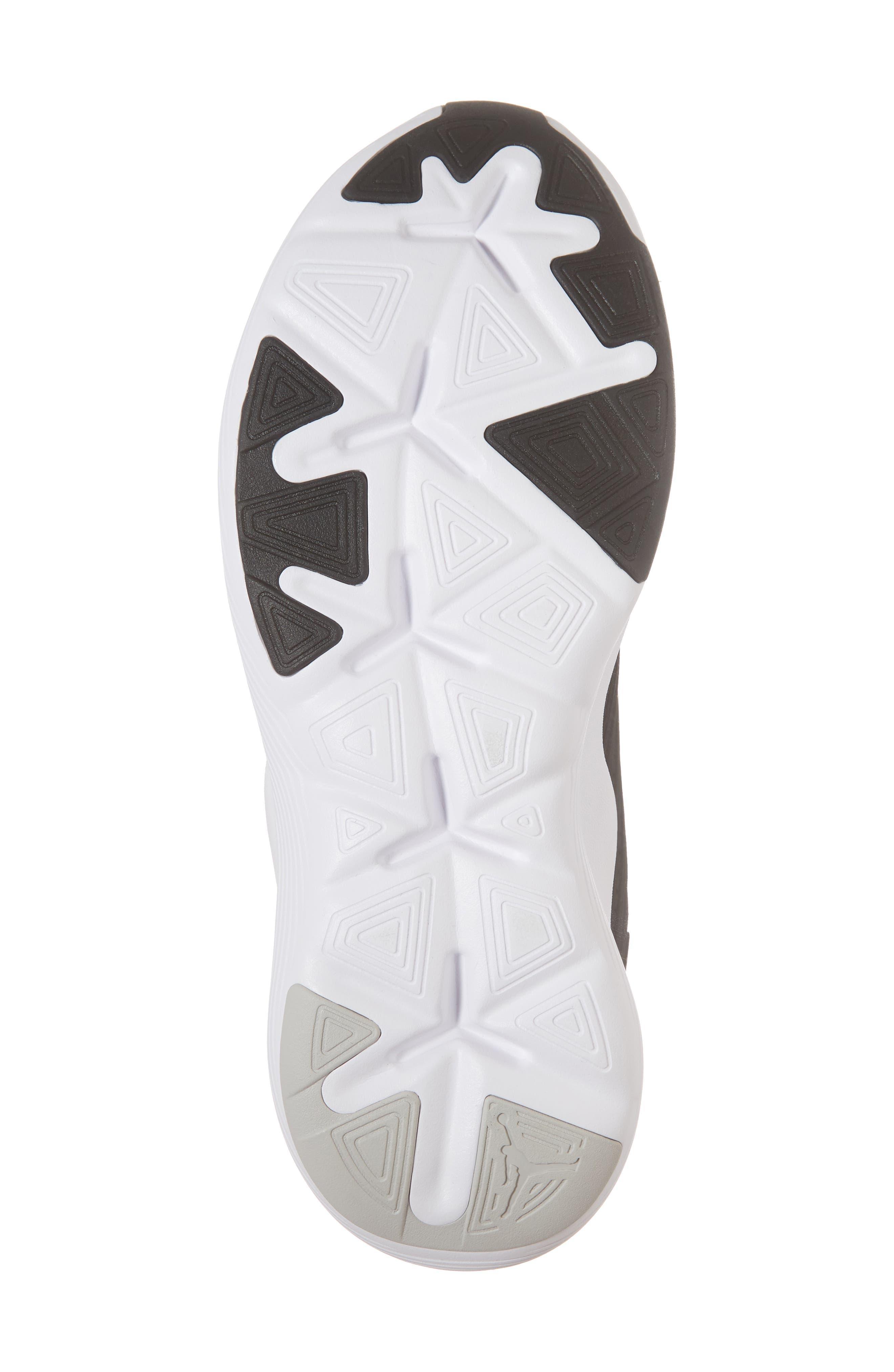 Air Jordan Relentless Training Sneaker,                             Alternate thumbnail 6, color,                             BLACK/ TECH GREY/ WHITE
