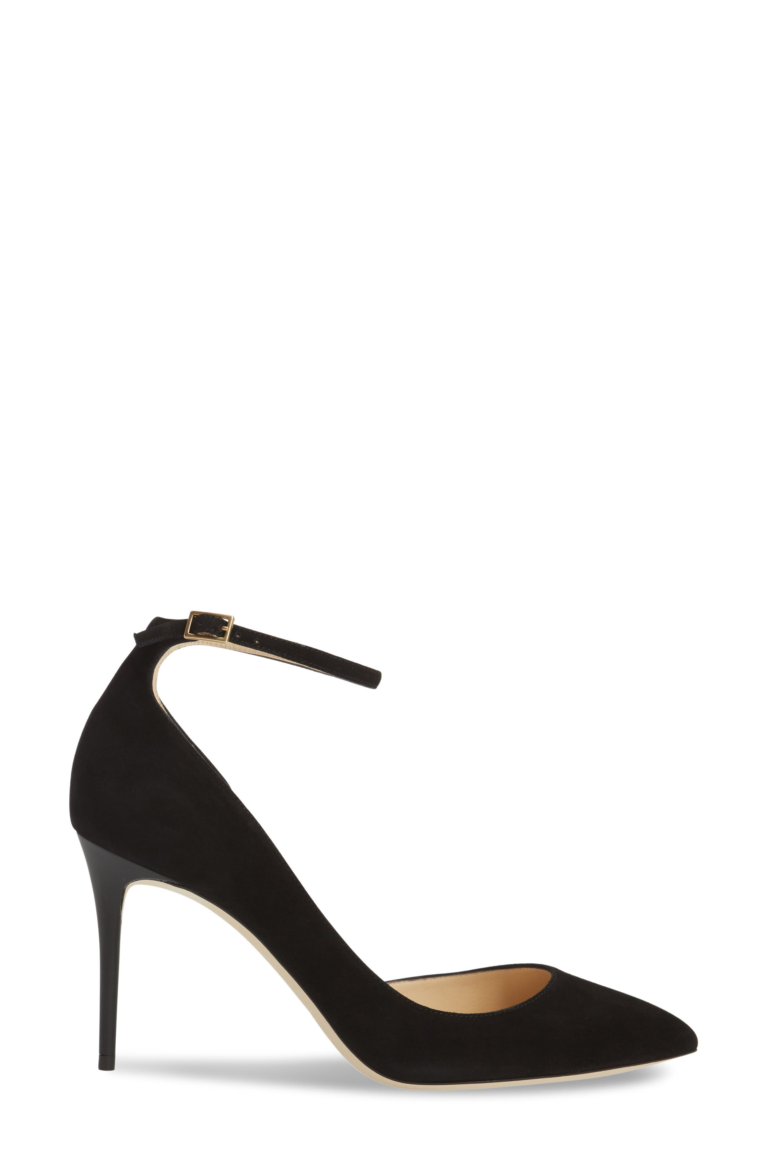 'Lucy' Half d'Orsay Pointy Toe Pump,                             Alternate thumbnail 14, color,