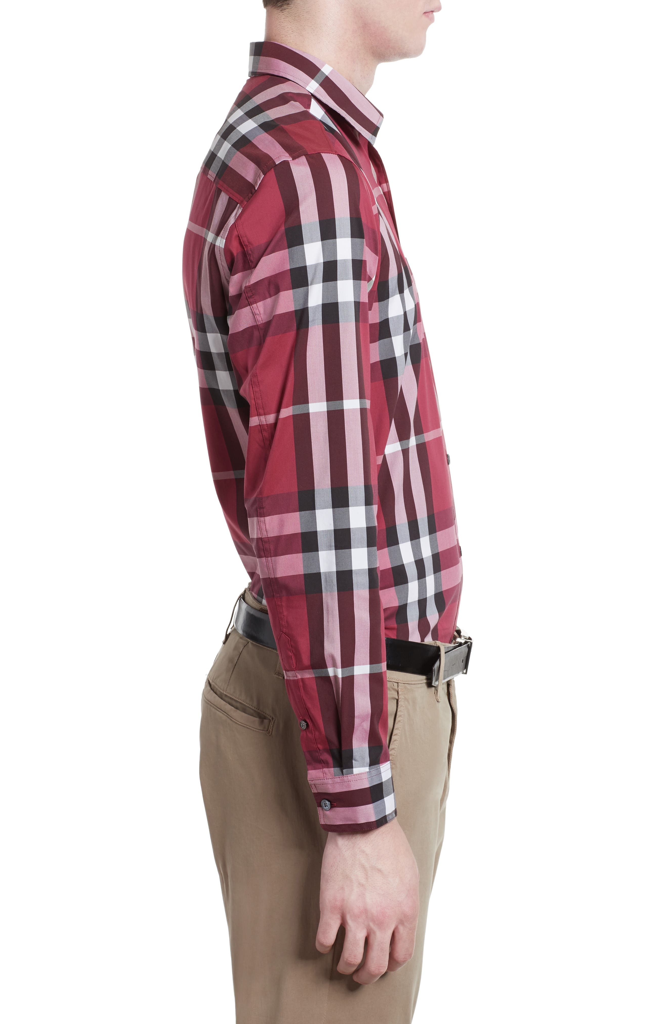 Nelson Check Sport Shirt,                             Alternate thumbnail 73, color,