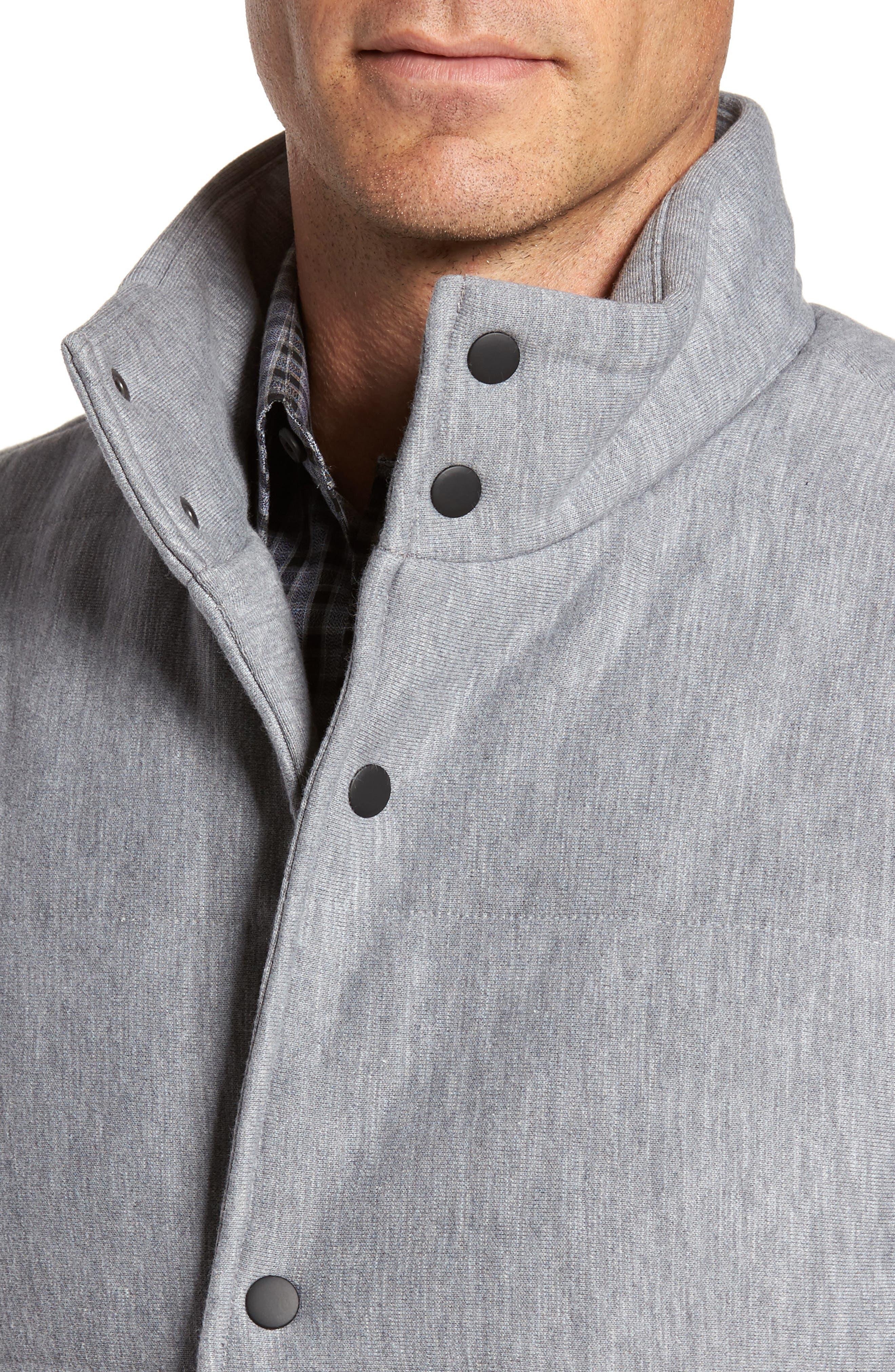 Quilted Fleece Vest,                             Alternate thumbnail 7, color,