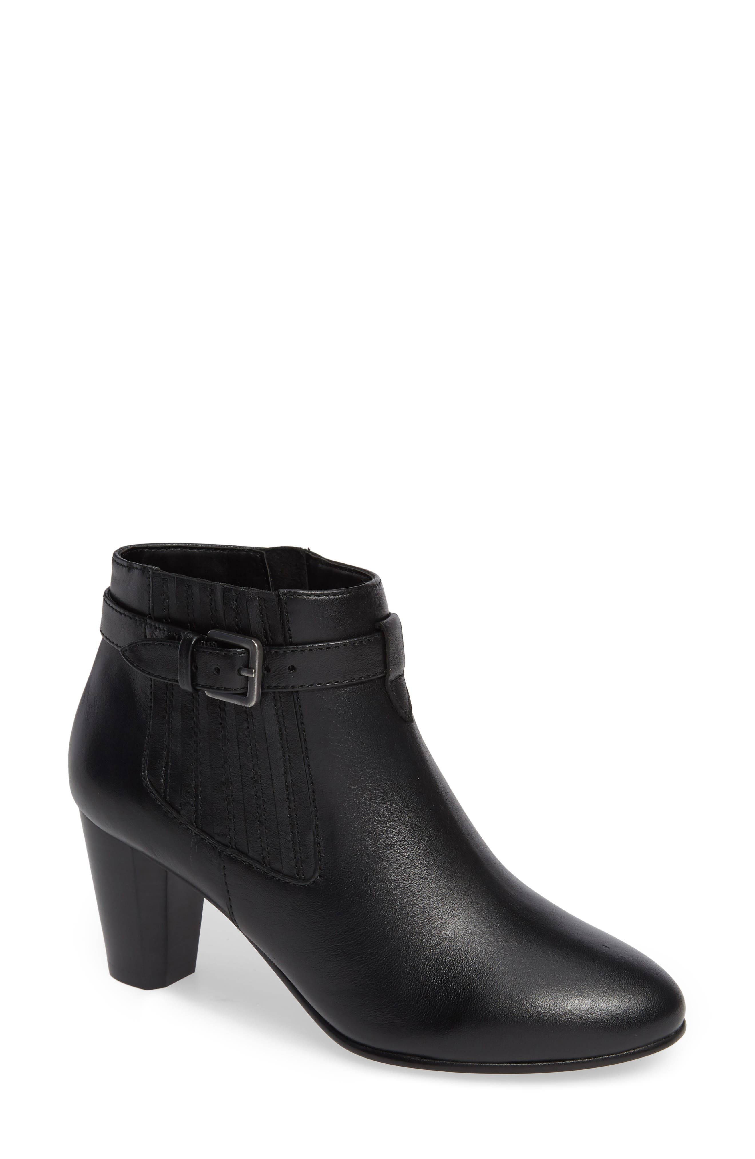 David Tate Opal Bootie, WW - Black