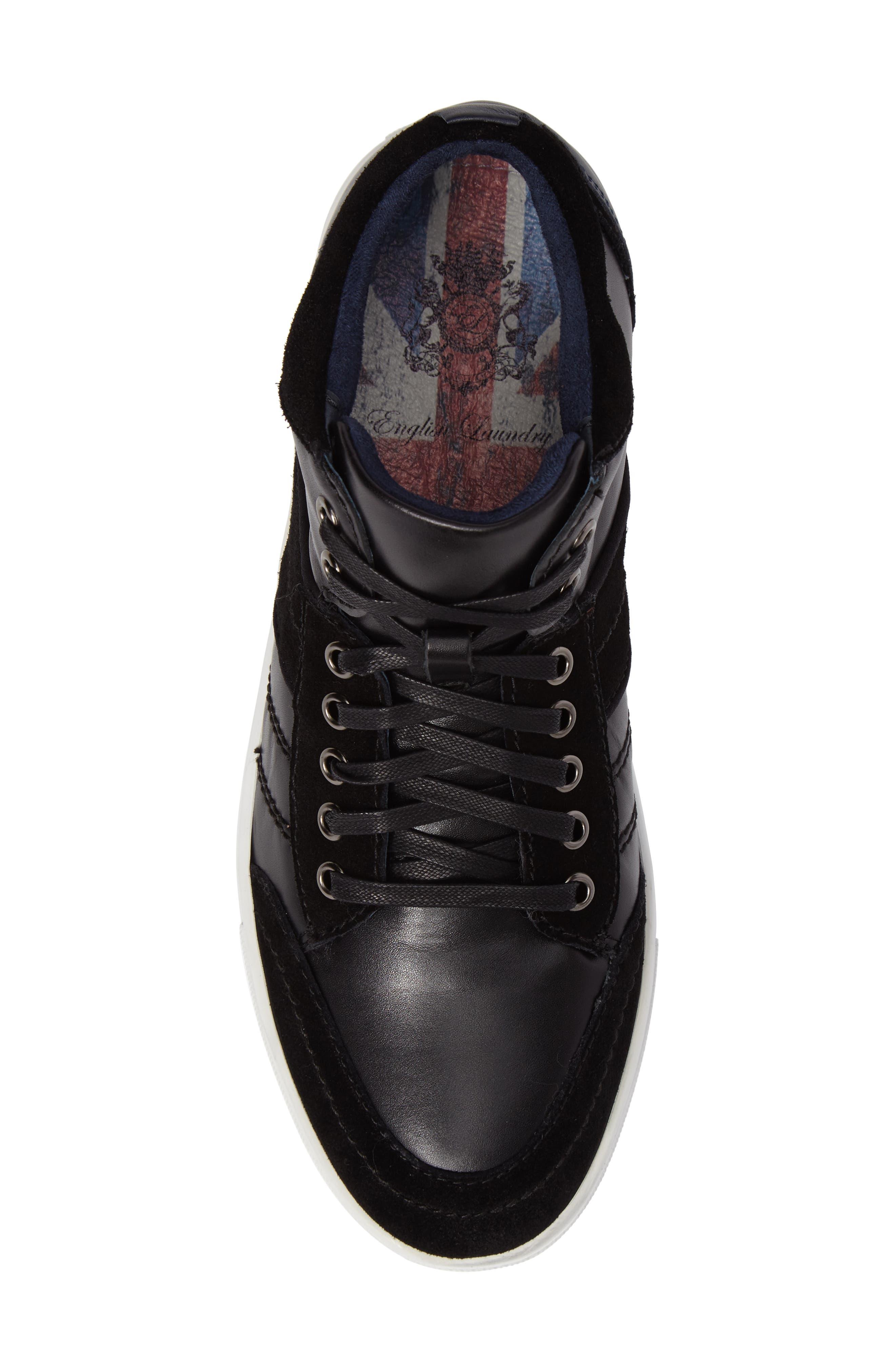 Viper Sneaker,                             Alternate thumbnail 5, color,                             BLACK