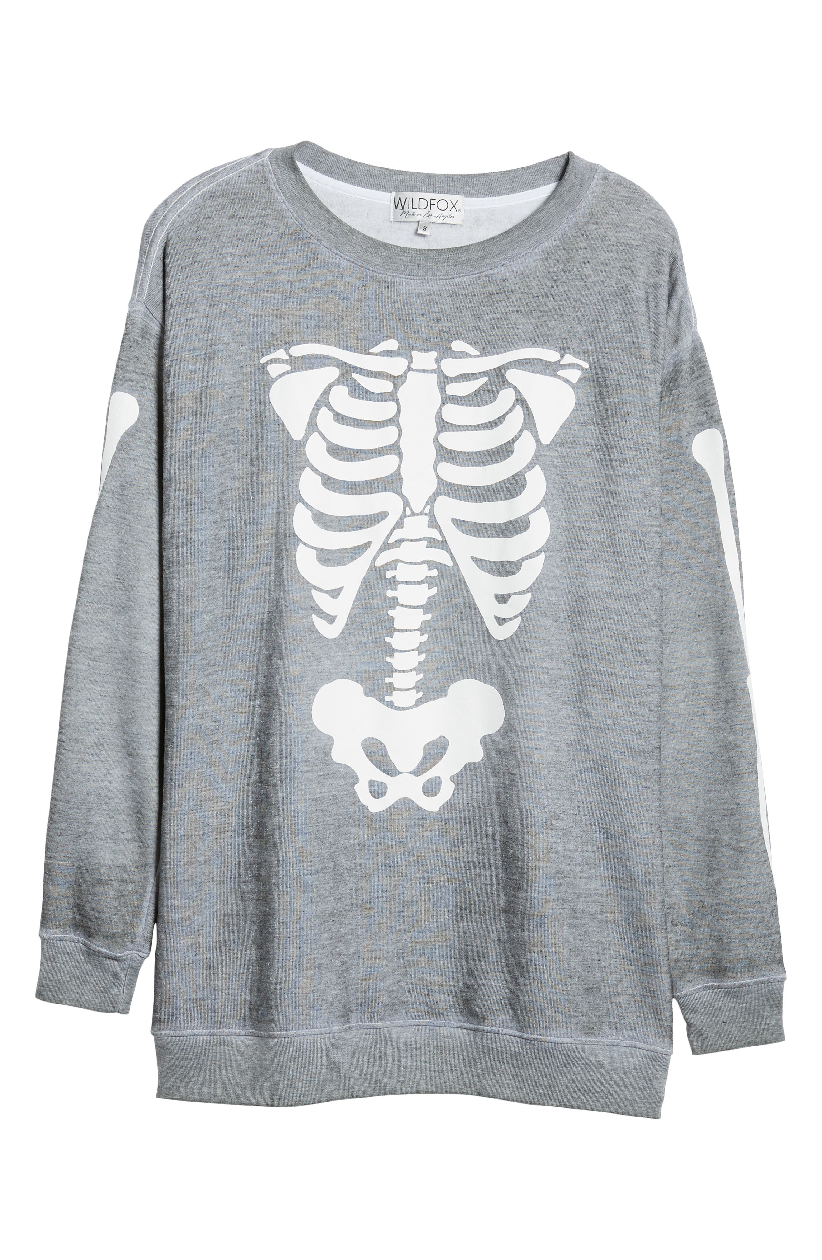 X-Ray Vision Road Trip Sweatshirt,                             Alternate thumbnail 6, color,                             HEATHER