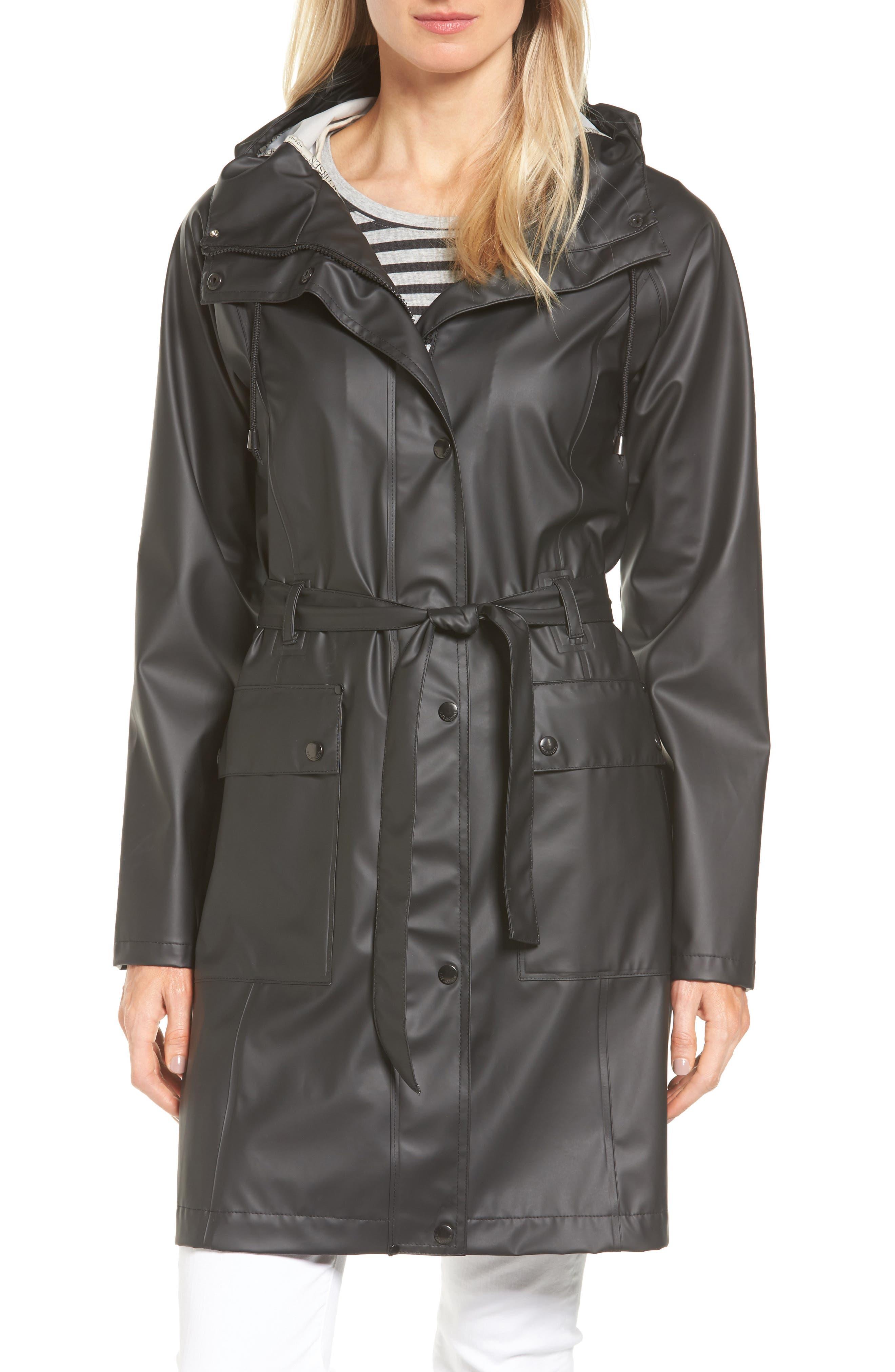 Hornbæk Hooded Raincoat,                             Main thumbnail 1, color,                             001