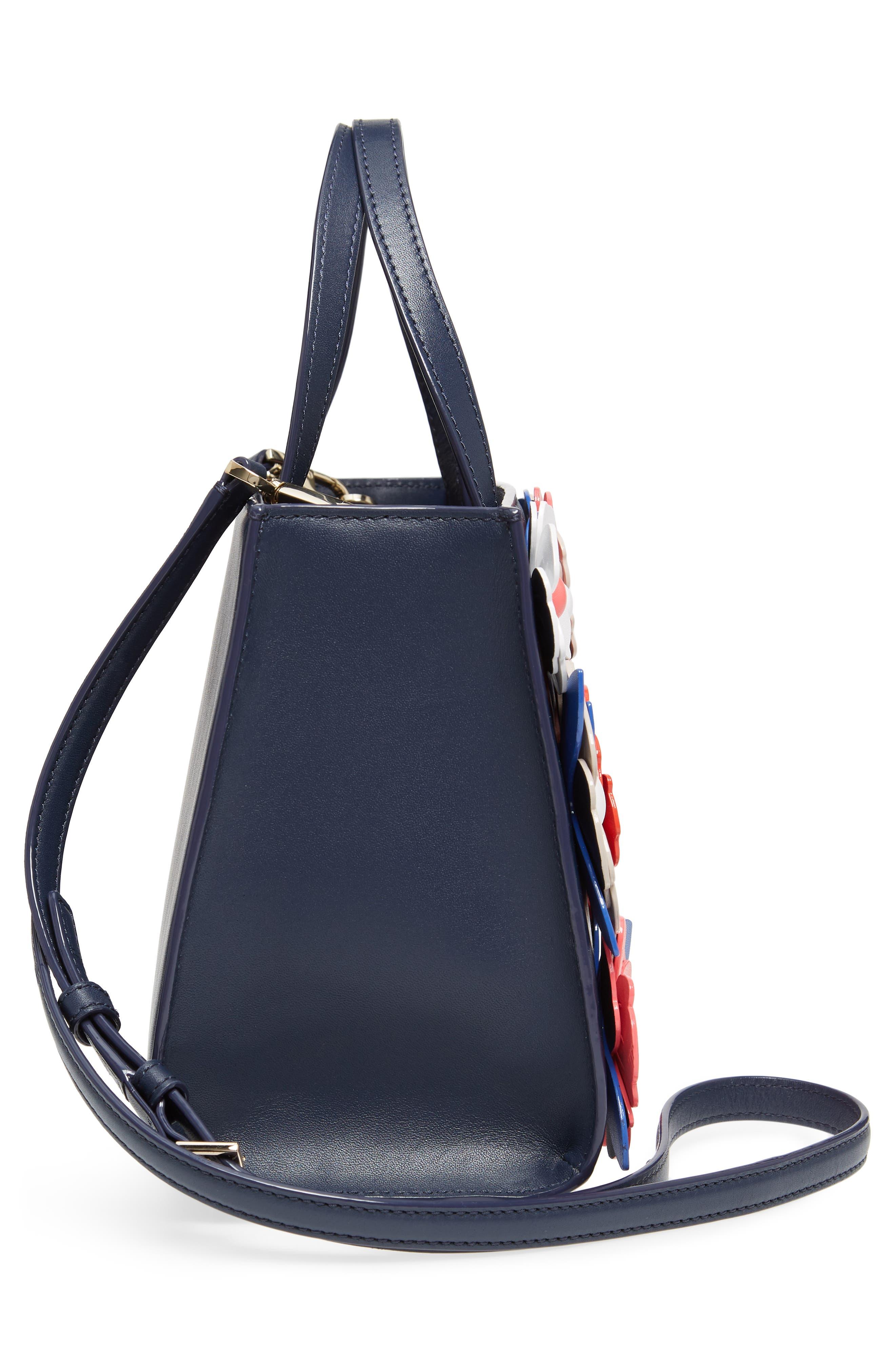 madison daisy lane – sam leather handbag,                             Alternate thumbnail 5, color,                             400