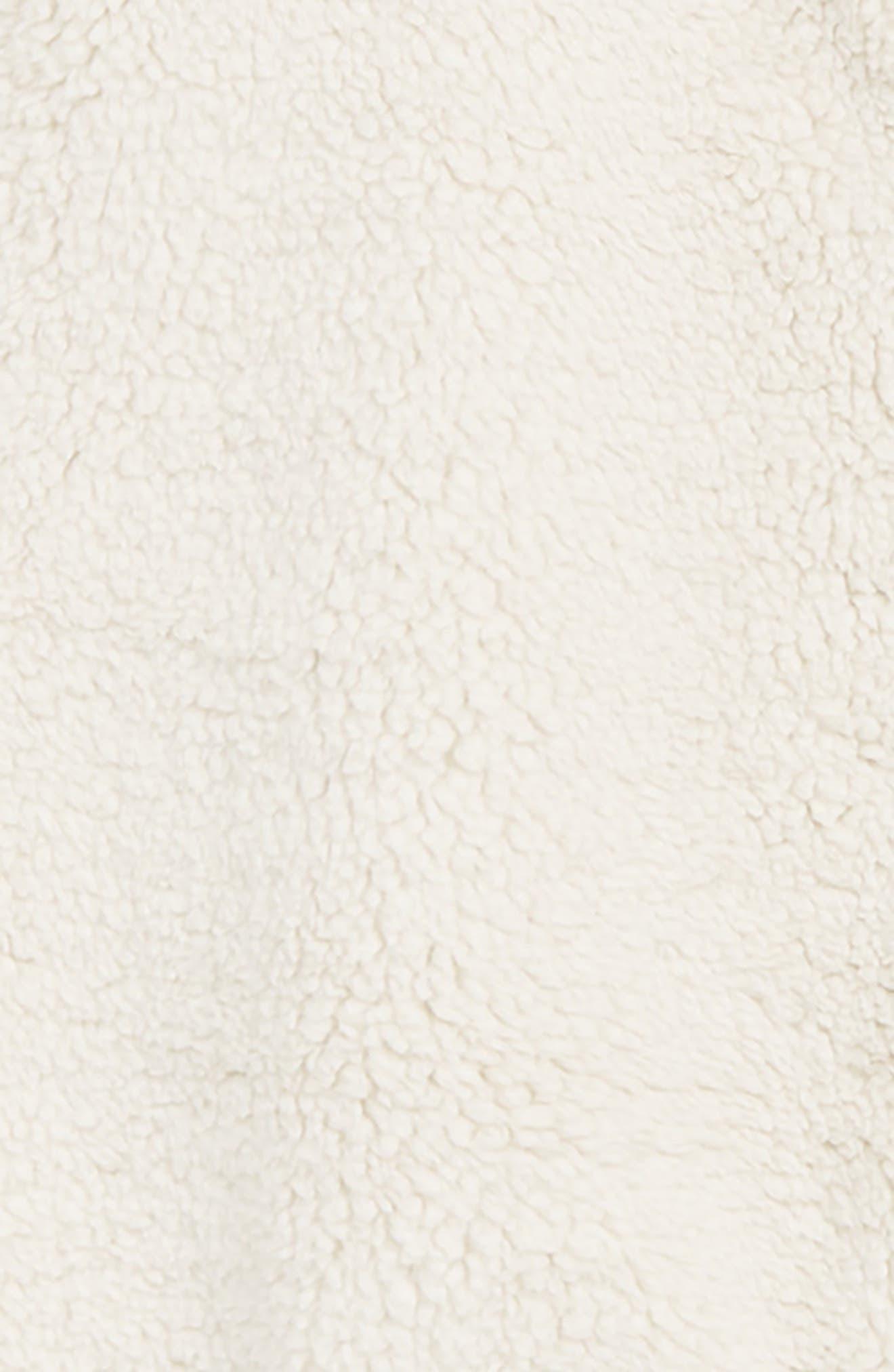 Campshire High Pile Fleece One-Piece,                             Alternate thumbnail 2, color,                             VINTAGE WHITE
