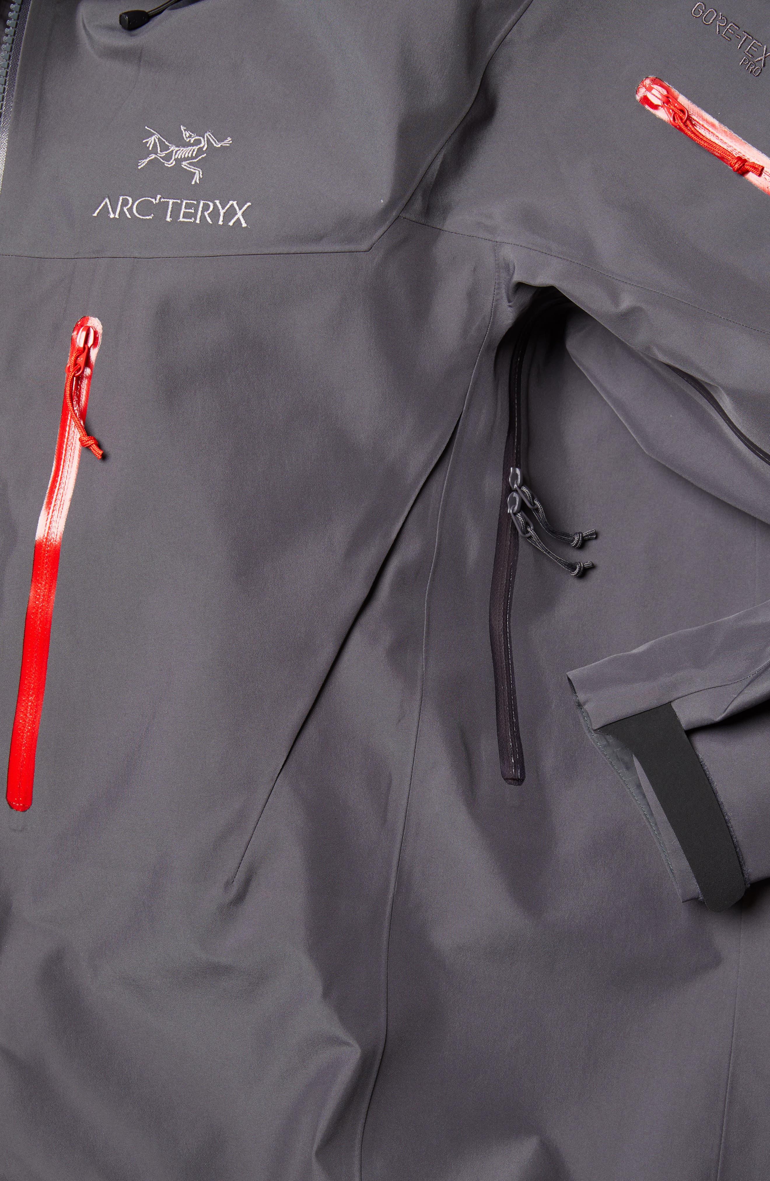 ARC'TERYX,                             Alpha SV Men's Jacket,                             Alternate thumbnail 6, color,                             PILOT