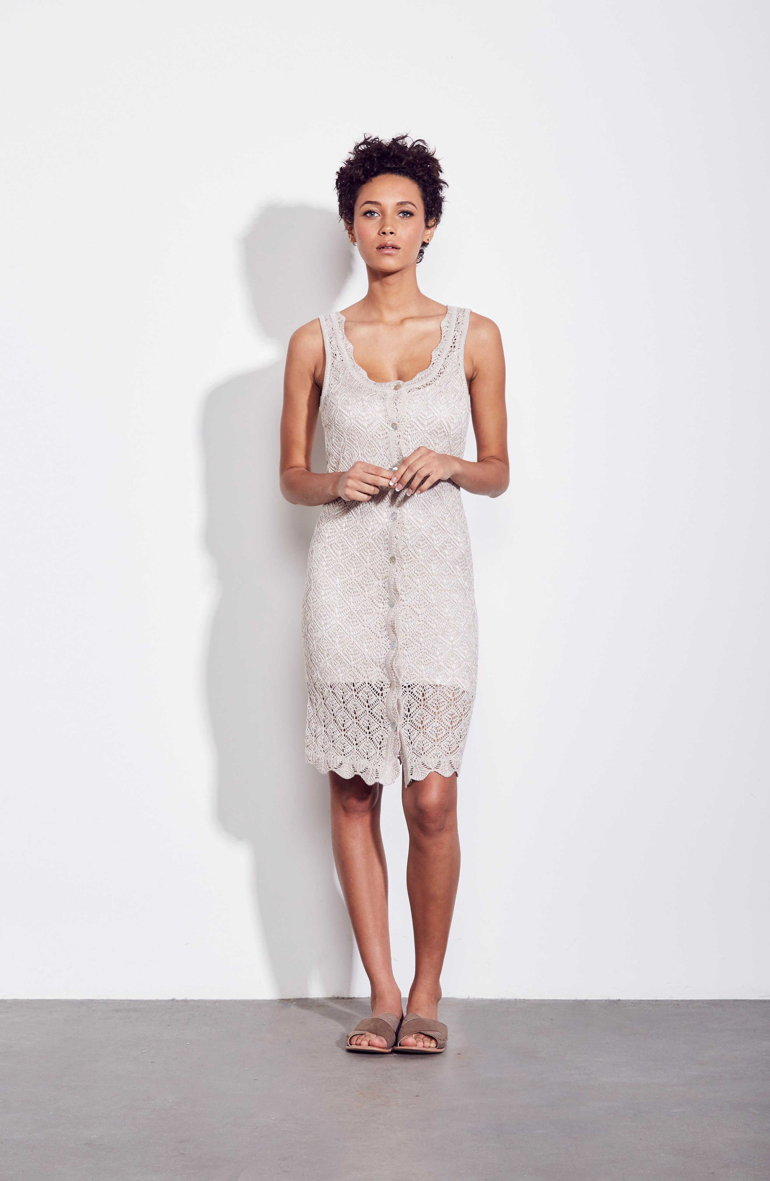Picnic By The Lagoon Lace Dress,                             Alternate thumbnail 7, color,                             261
