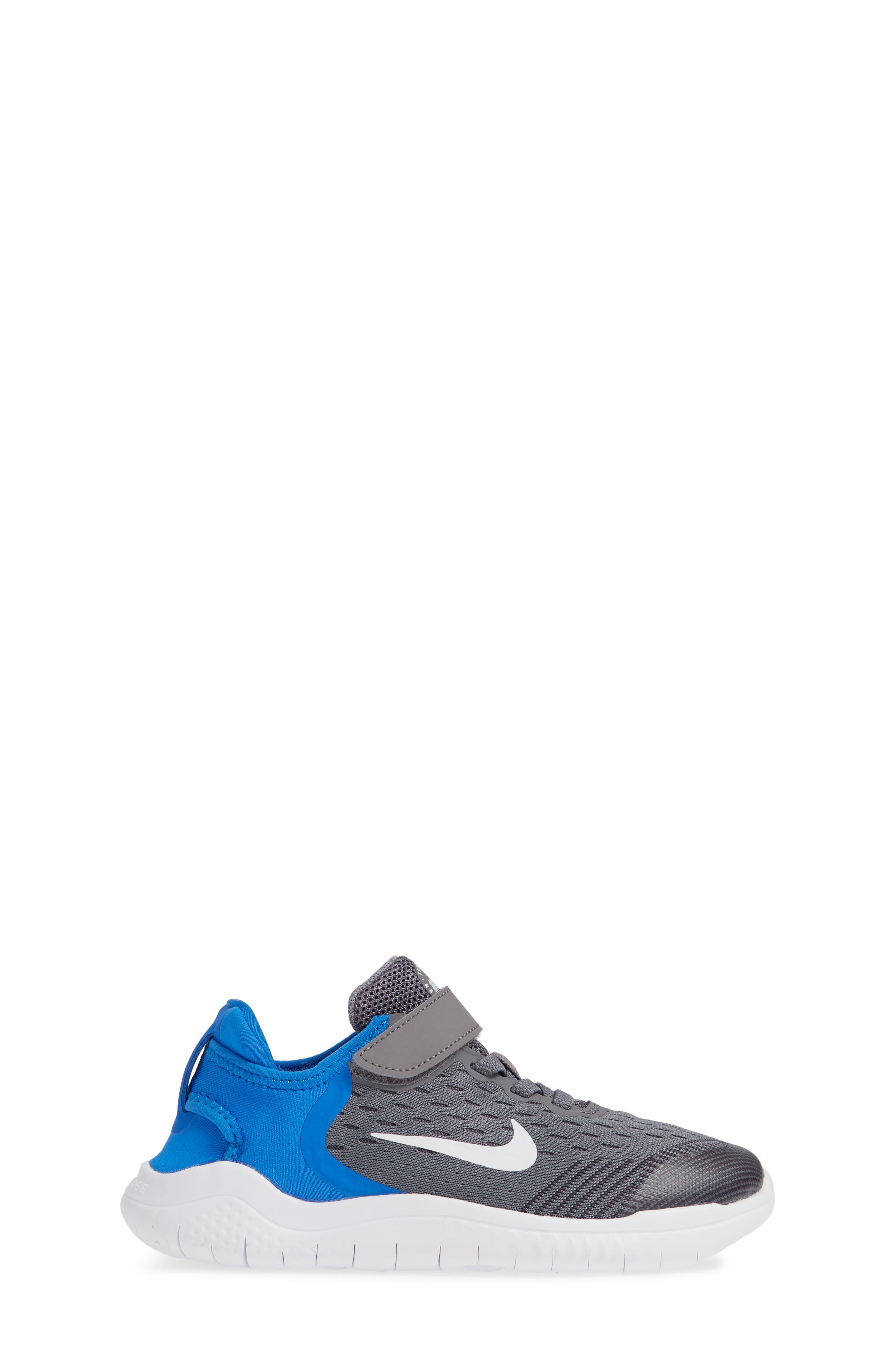 Free RN Running Shoe,                             Alternate thumbnail 3, color,                             GREY/WHITE/BLUE