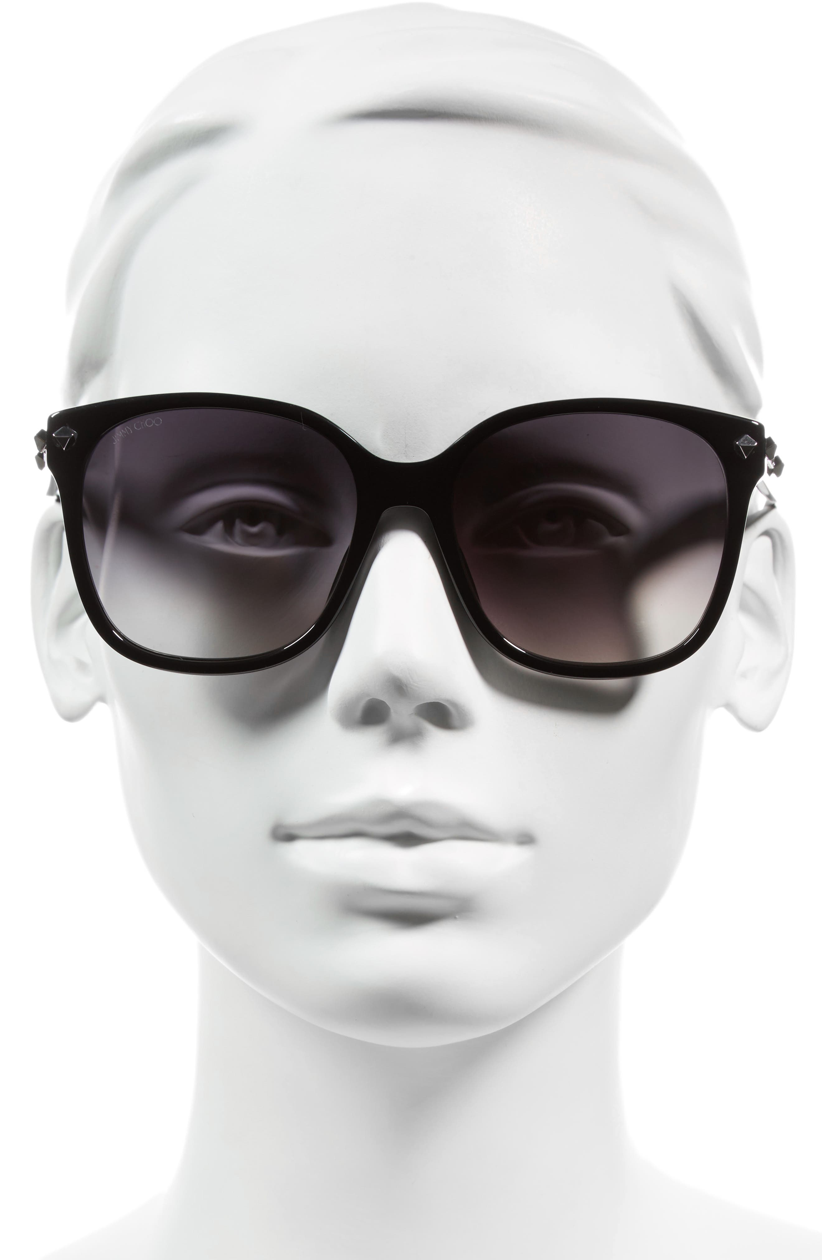 Demas 56mm Sunglasses,                             Alternate thumbnail 4, color,