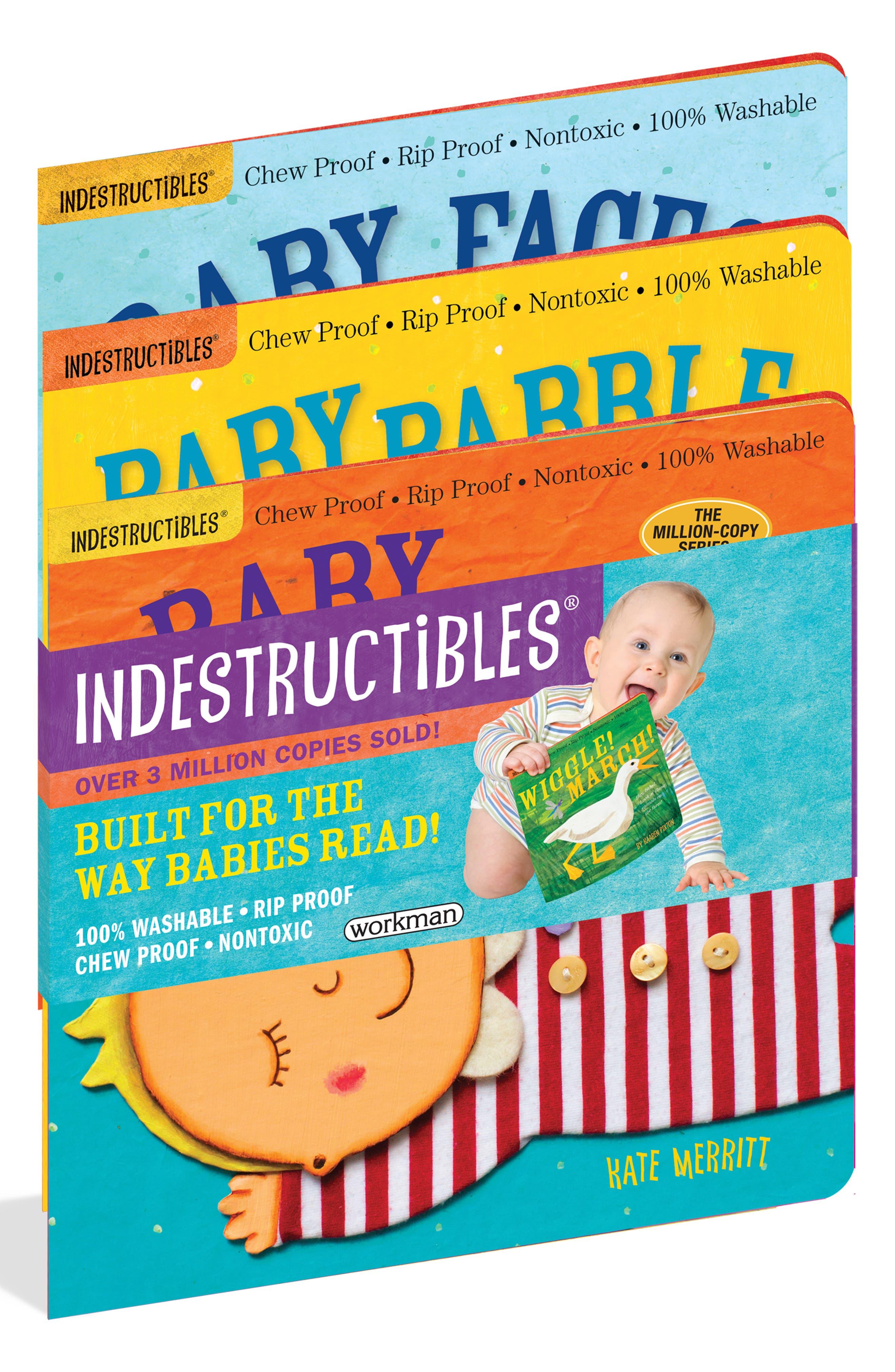 Infant Indestructibles Pack Of 3 Books