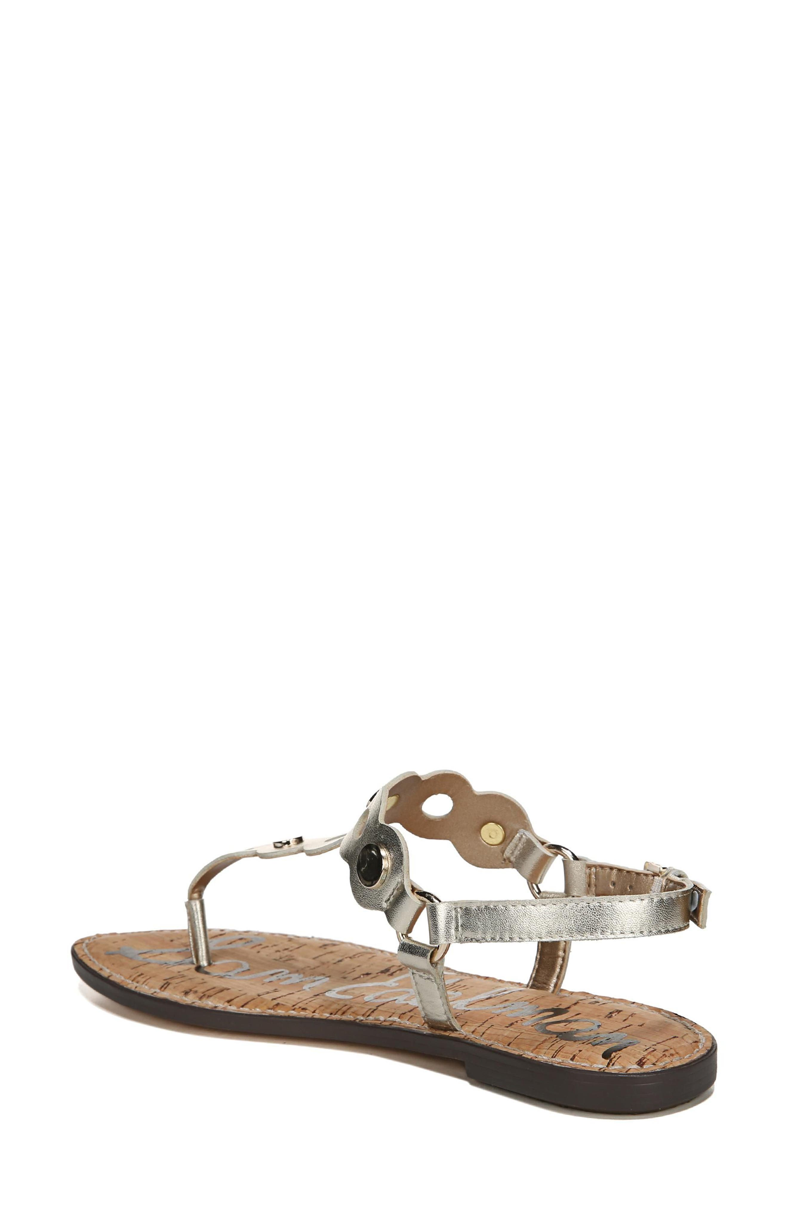 Gilly T-Strap Sandal,                             Alternate thumbnail 6, color,