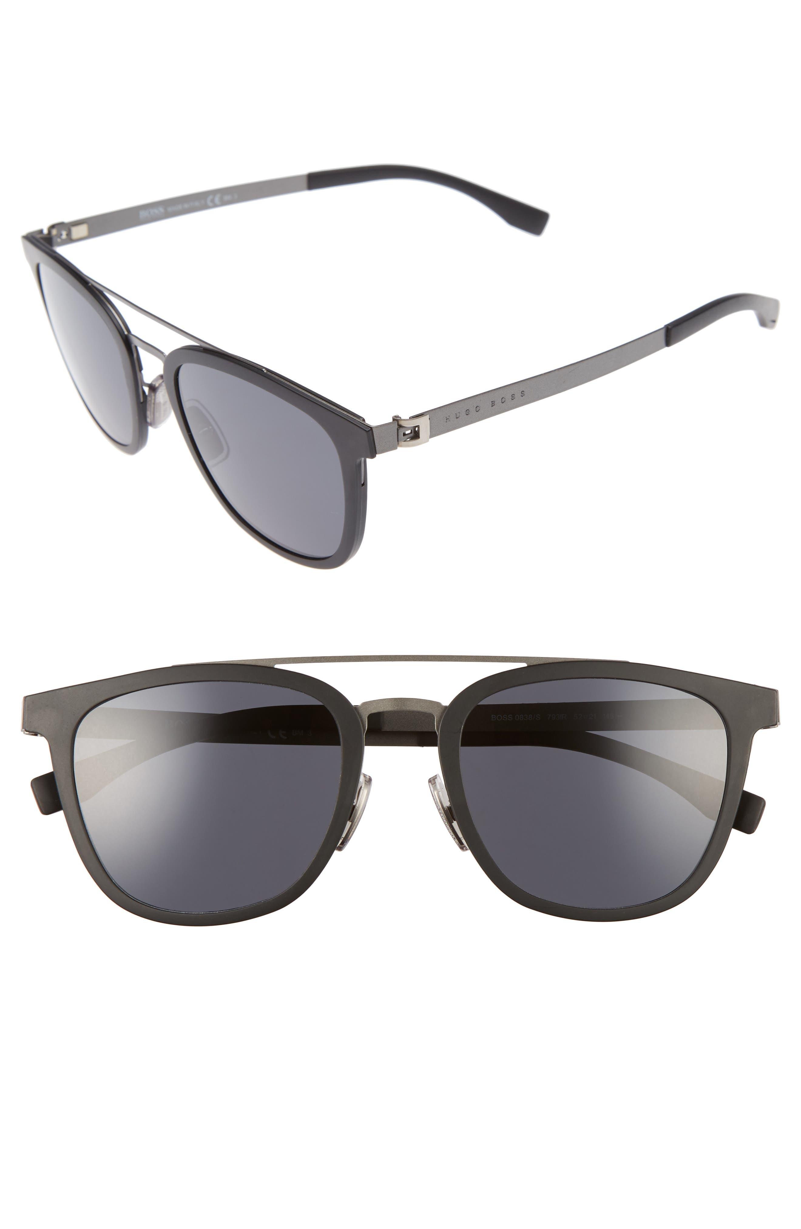 838/S 52mm Sunglasses,                             Alternate thumbnail 2, color,                             002
