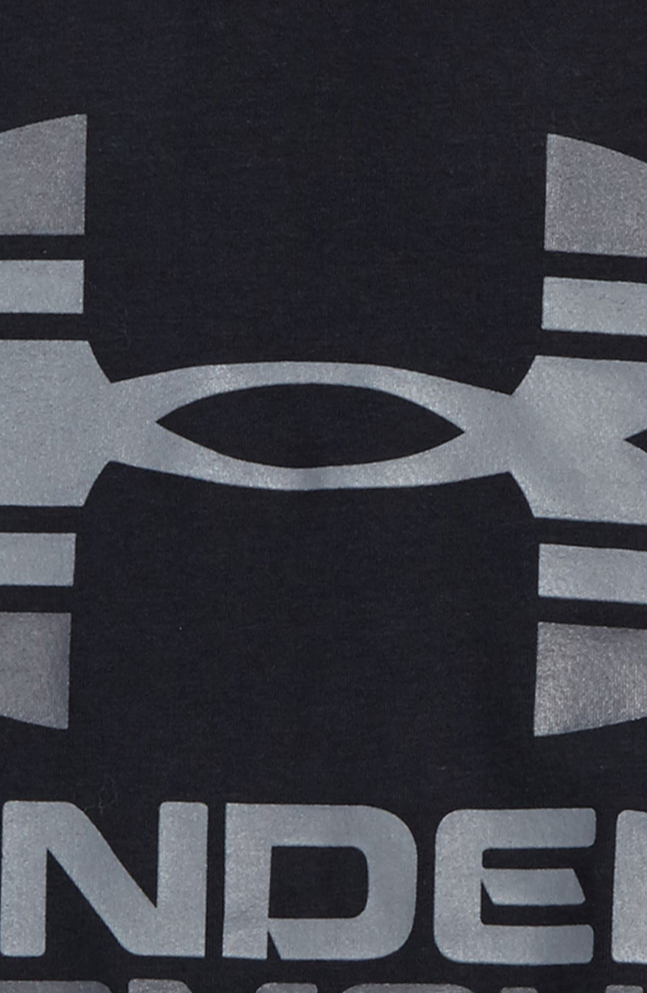 Two-Tone Logo HeatGear<sup>®</sup> T-Shirt,                             Alternate thumbnail 2, color,                             001