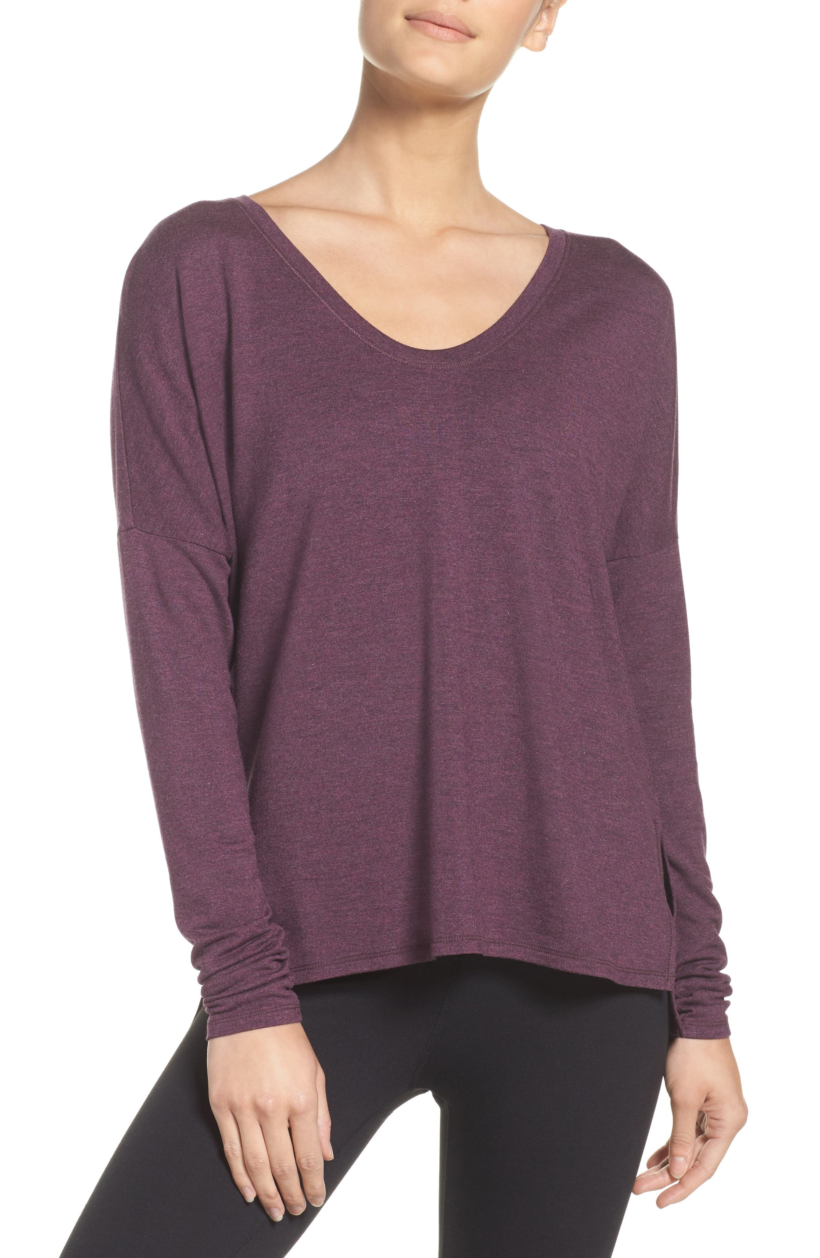 She's Cute Terry Pullover,                             Main thumbnail 4, color,