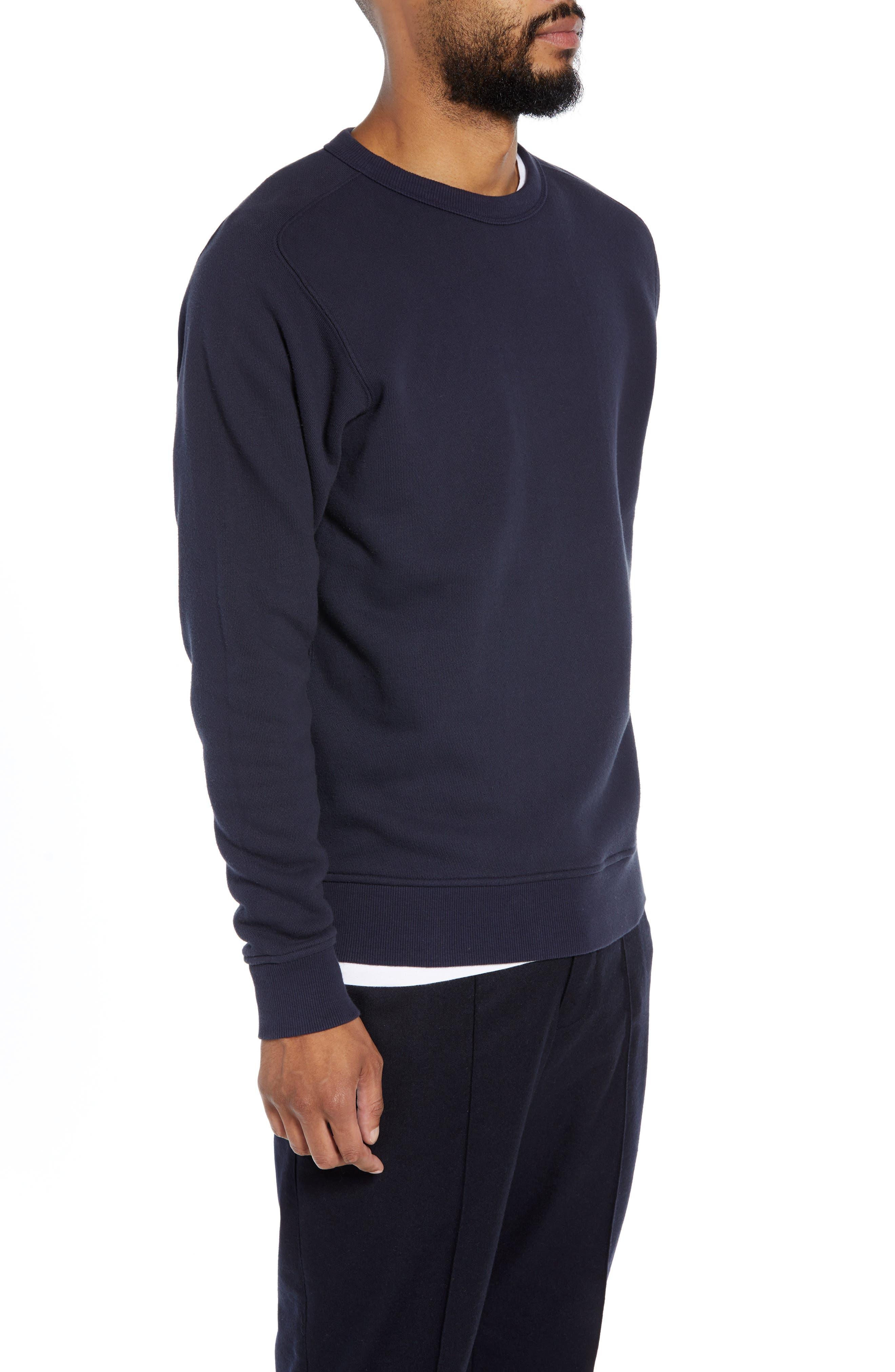 Almost Grown Crewneck Sweatshirt,                             Alternate thumbnail 3, color,                             NAVY