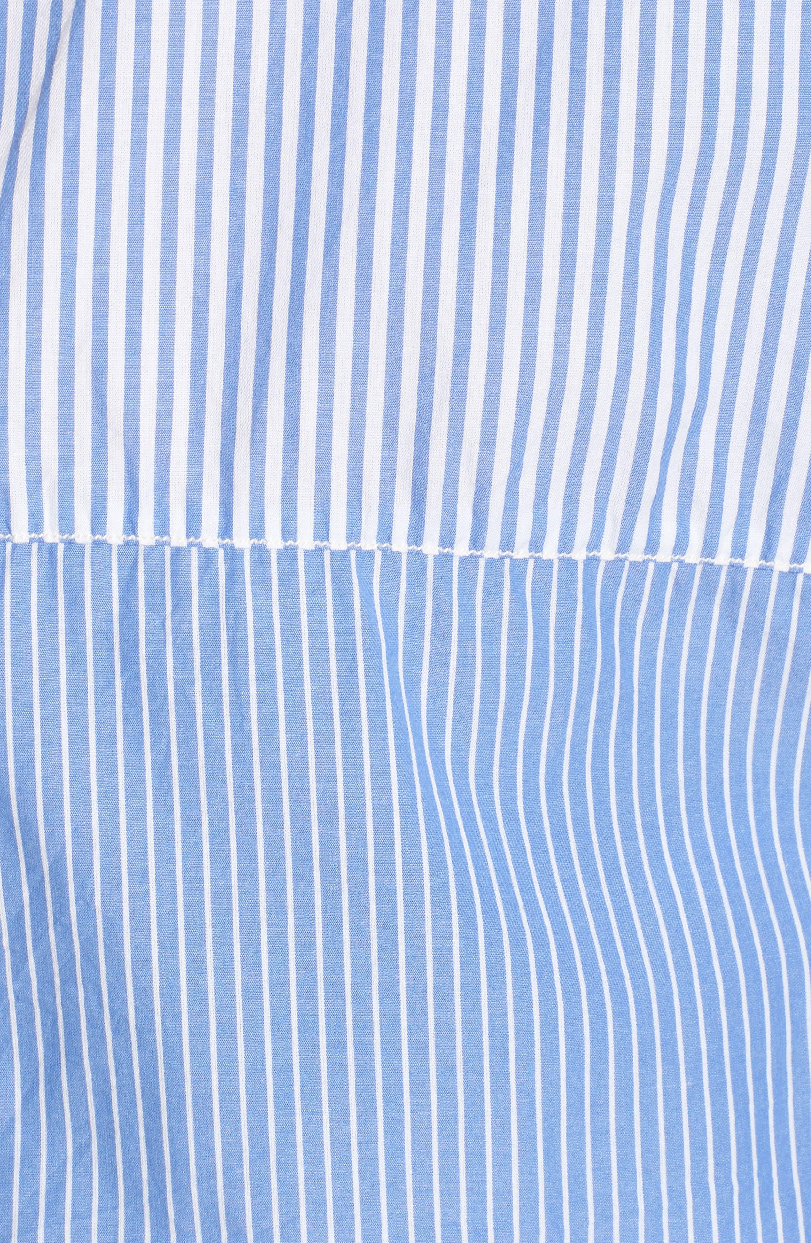 Regular Fit Stripe Sport Shirt,                             Alternate thumbnail 5, color,                             400
