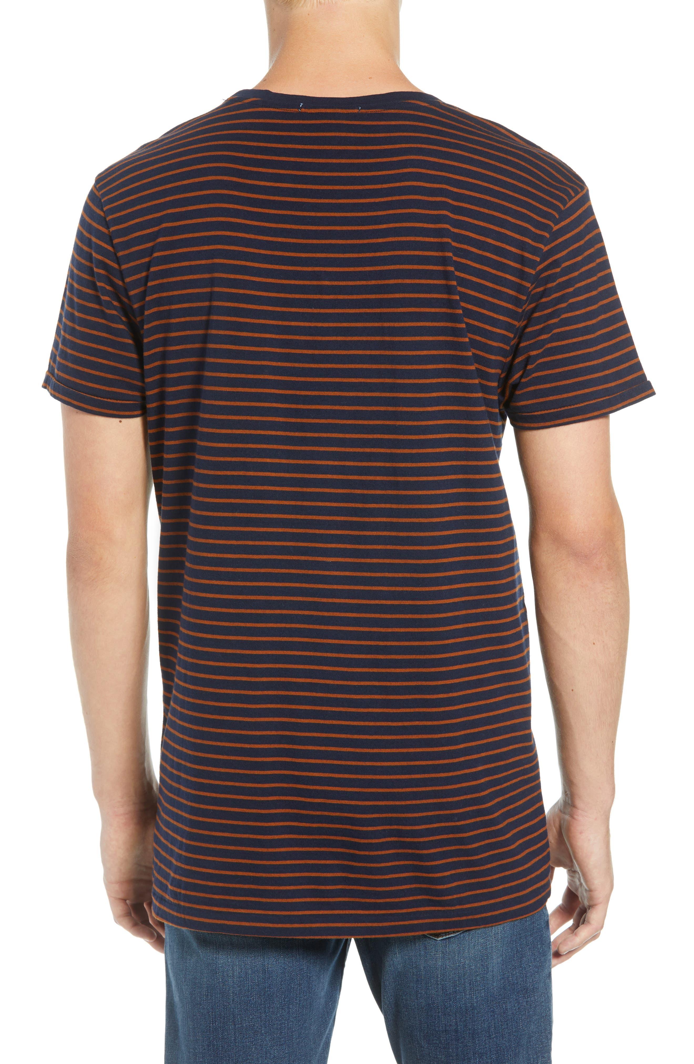 Stripe T-Shirt,                             Alternate thumbnail 2, color,                             210