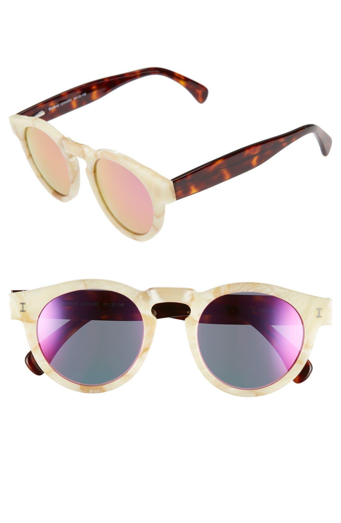 'Leonard' 47mm Sunglasses,                             Main thumbnail 69, color,