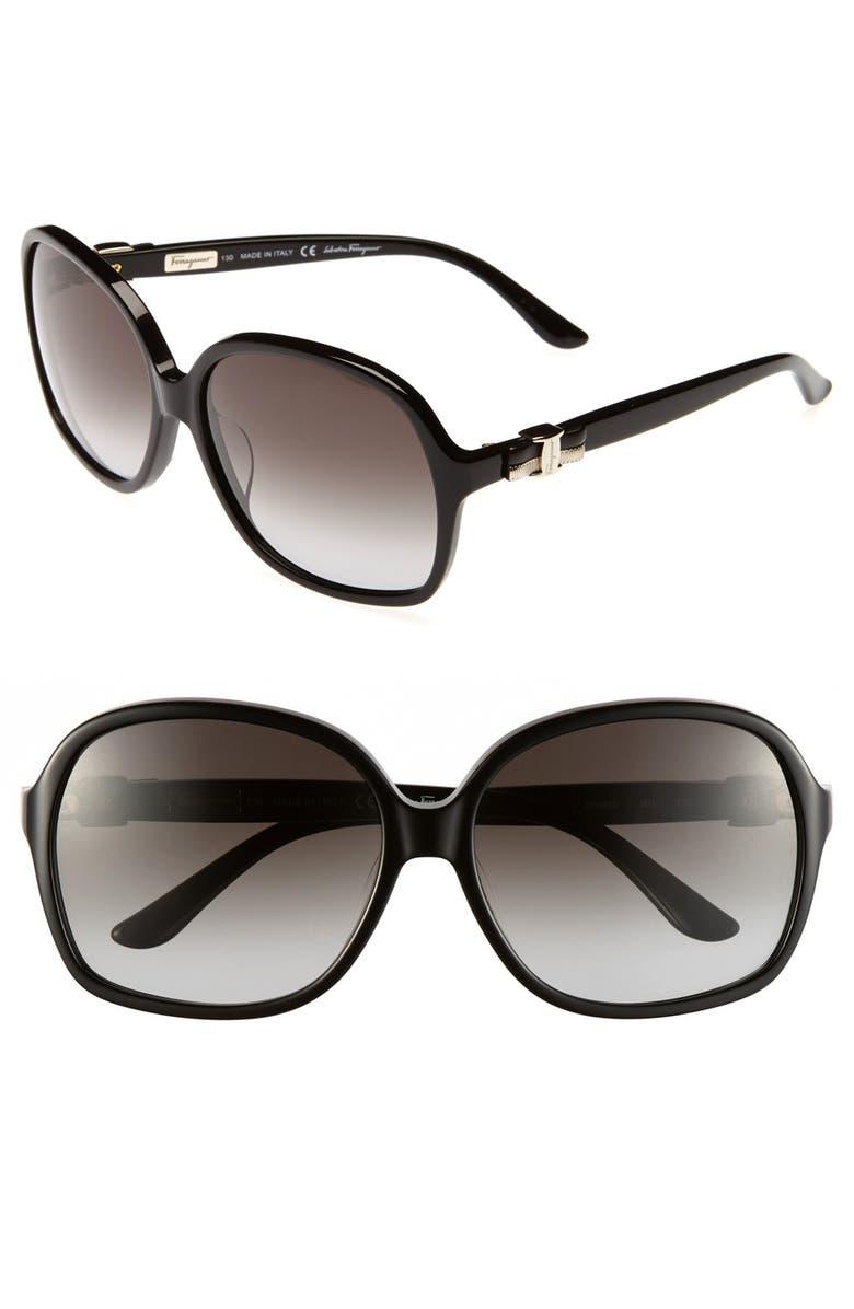 220d7ed461c Salvatore Ferragamo 59mm Oversized Sunglasses