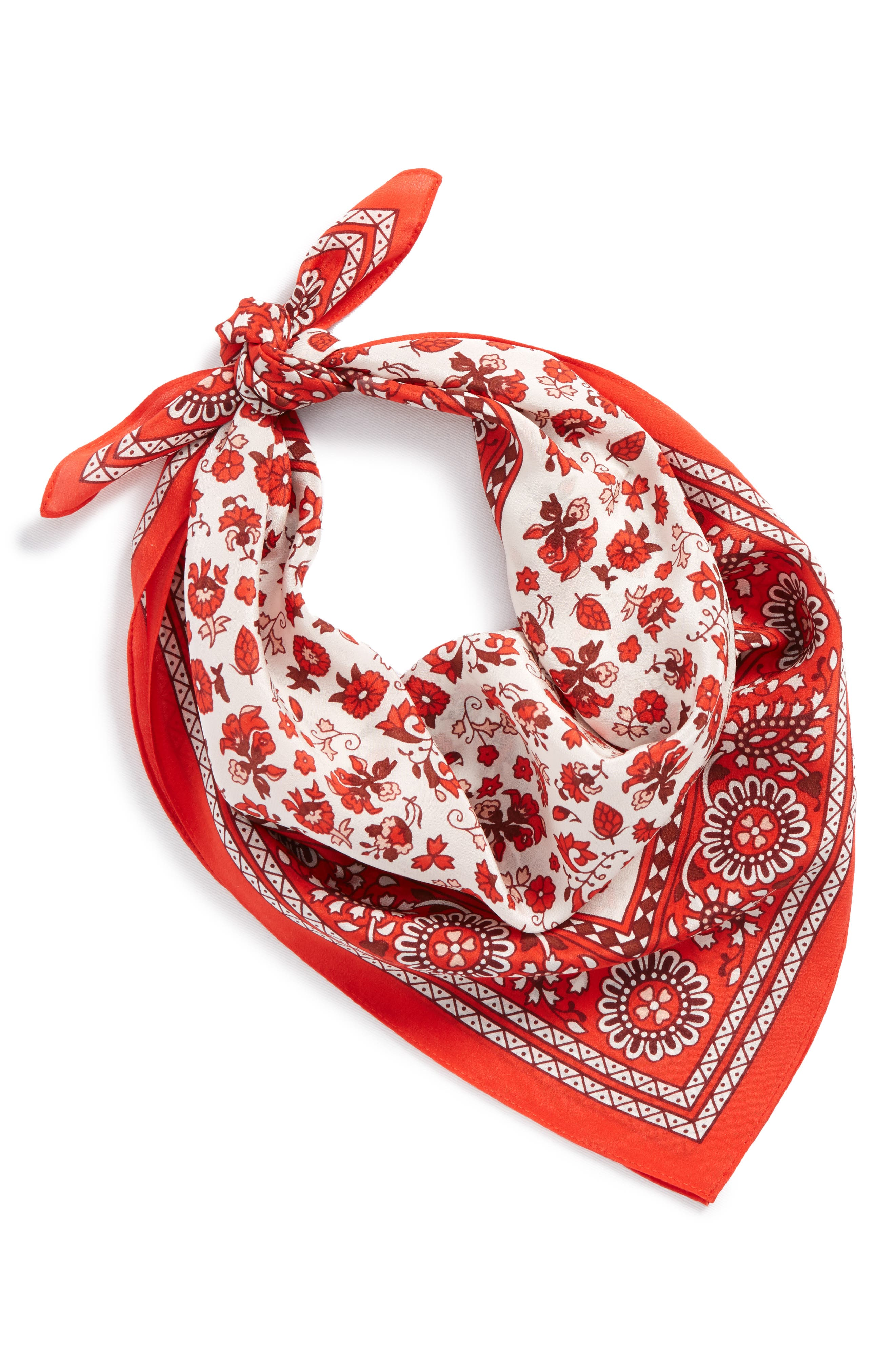 Silk Bandana,                             Main thumbnail 12, color,
