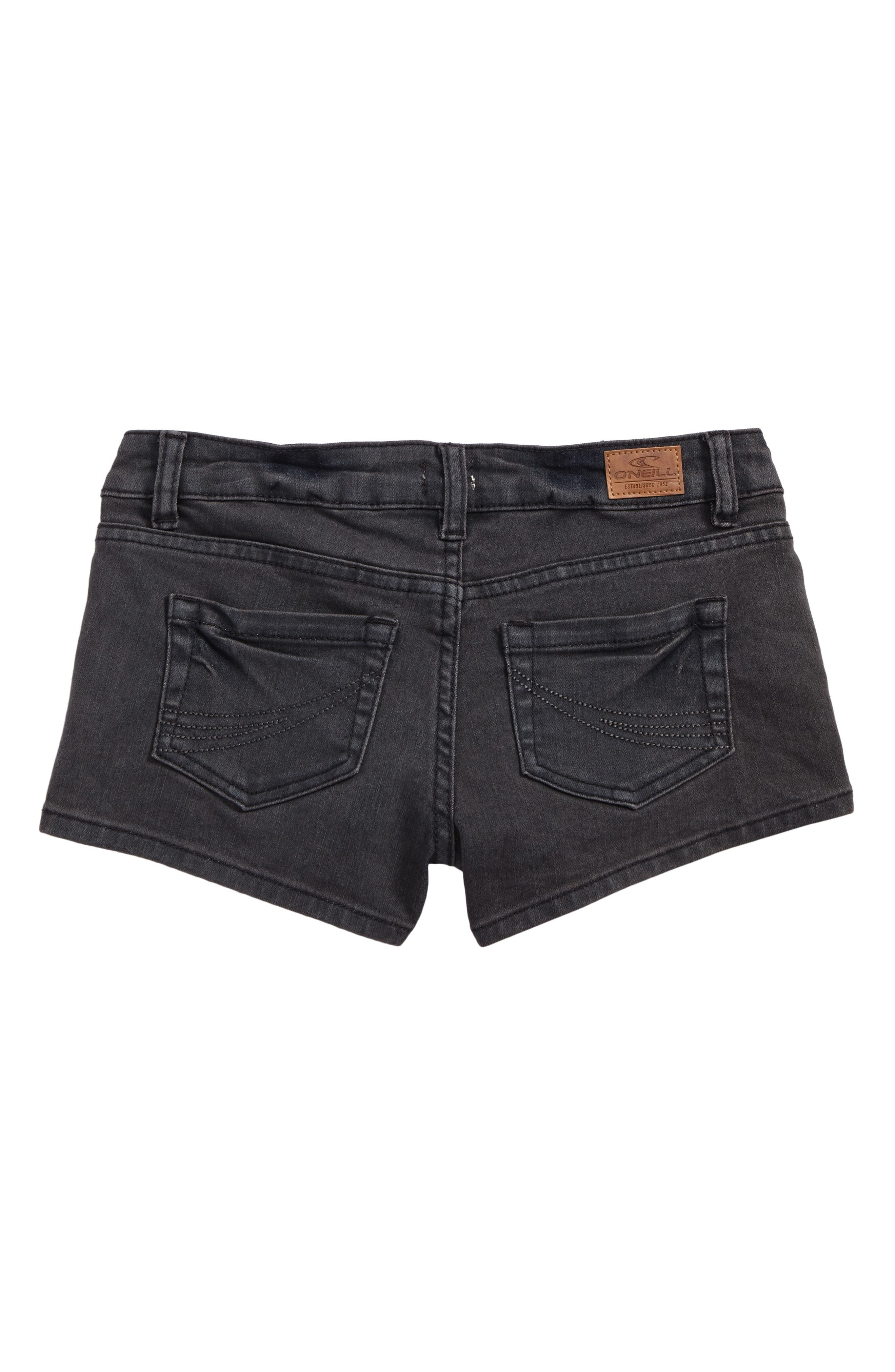 O'Neiil Waidley Denim Shorts,                             Alternate thumbnail 2, color,                             SLATE WASH - SLT