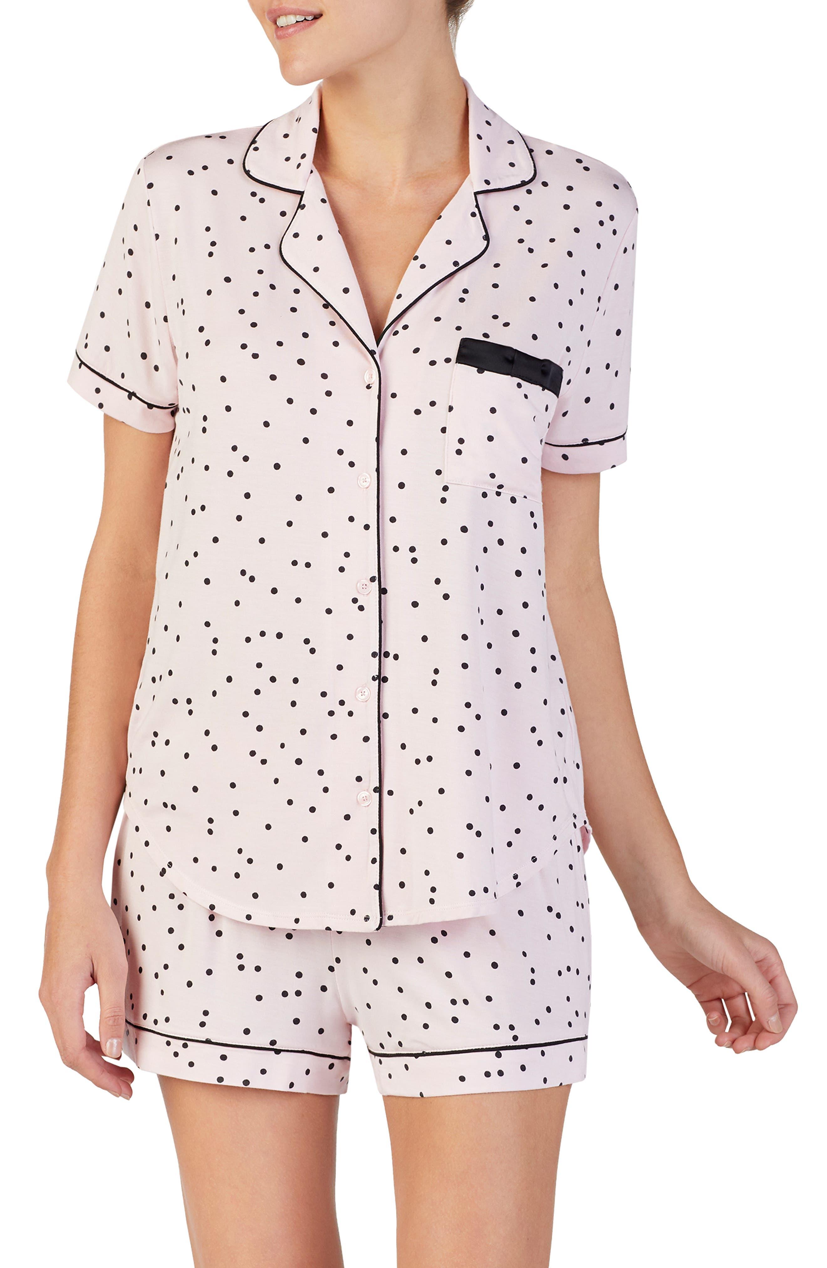 Kate Spade New York Short Pajamas, Pink