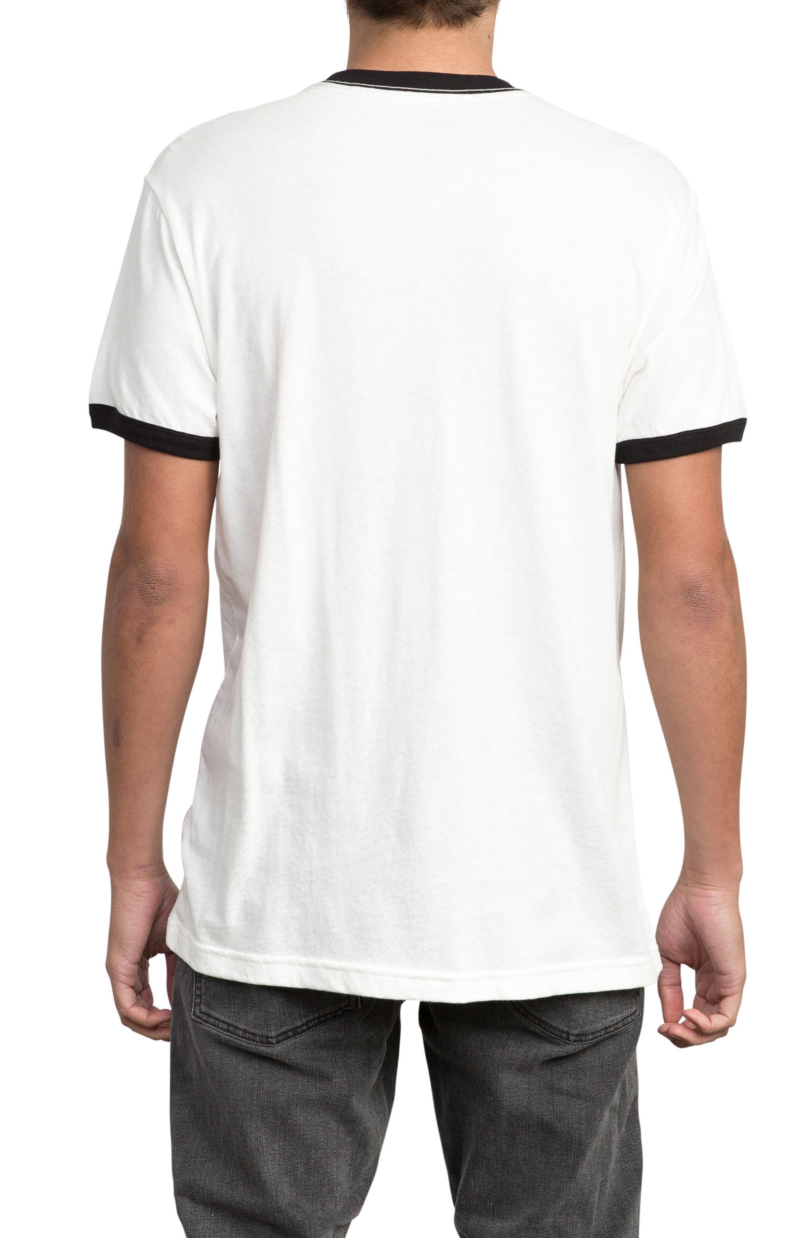 Big Network Ringer T-Shirt,                             Alternate thumbnail 4, color,