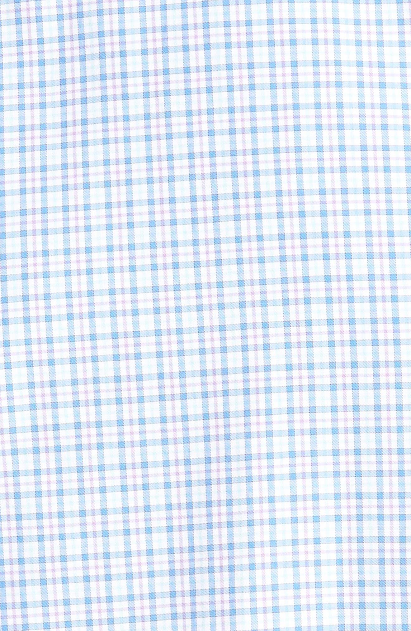 Crown Finish Regular Fit Check Sport Shirt,                             Alternate thumbnail 10, color,
