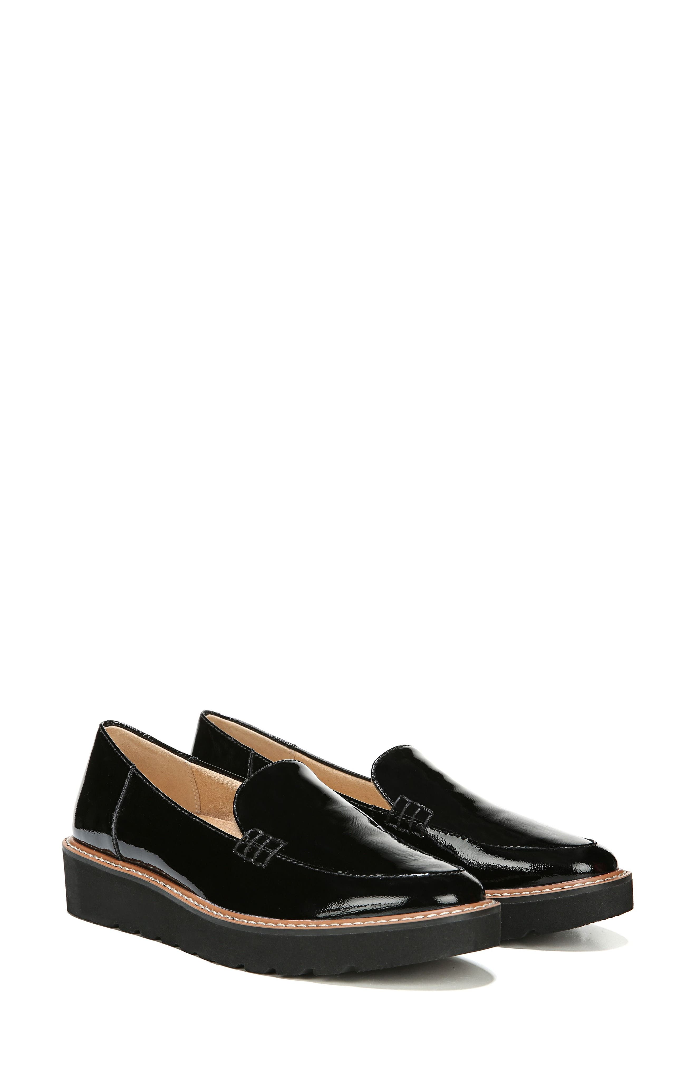 Andie Loafer,                             Alternate thumbnail 8, color,                             BLACK PATENT