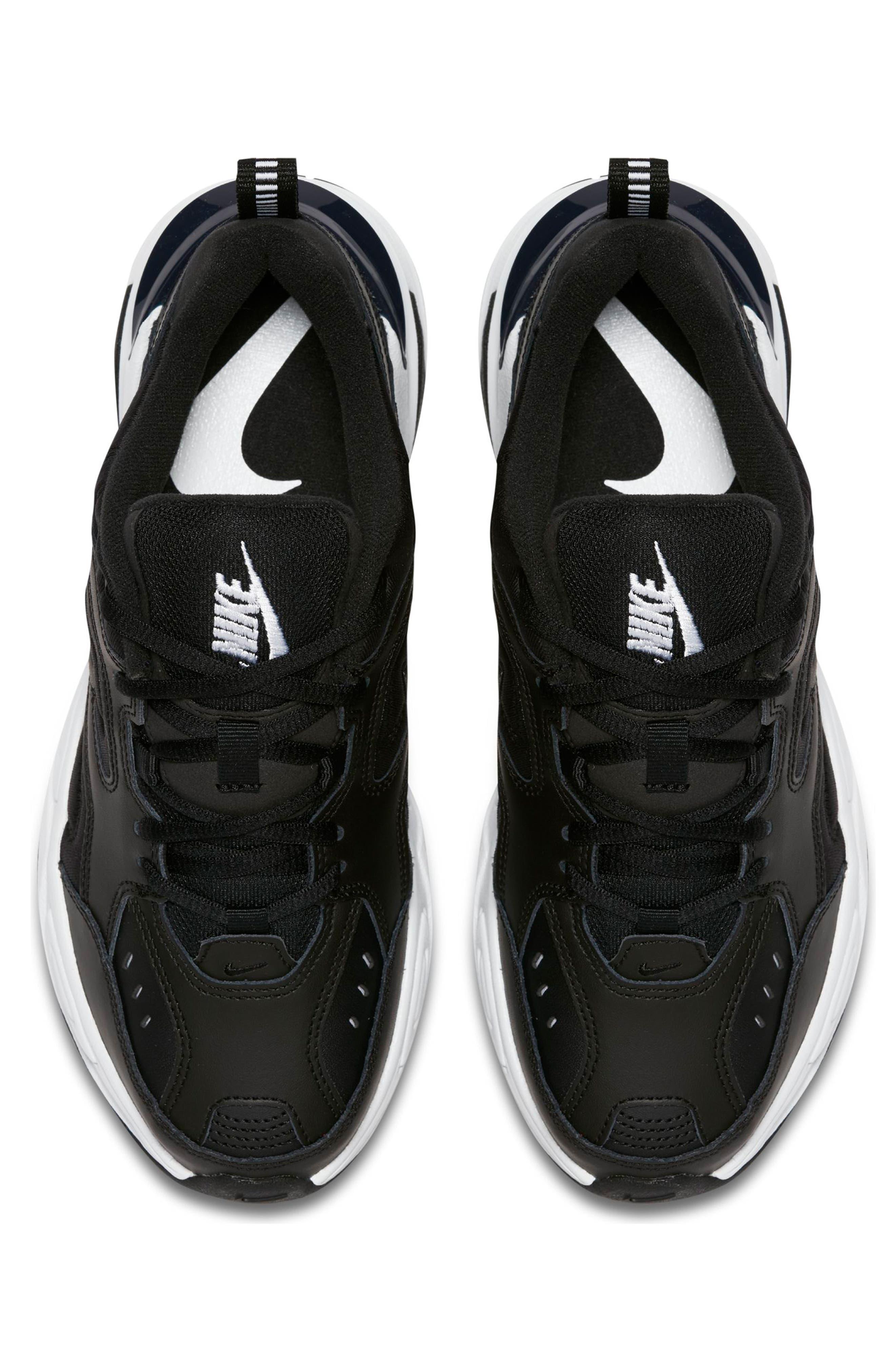 M2K Tekno Sneaker,                             Alternate thumbnail 4, color,                             BLACK/ OFF WHITE/ OBSIDIAN