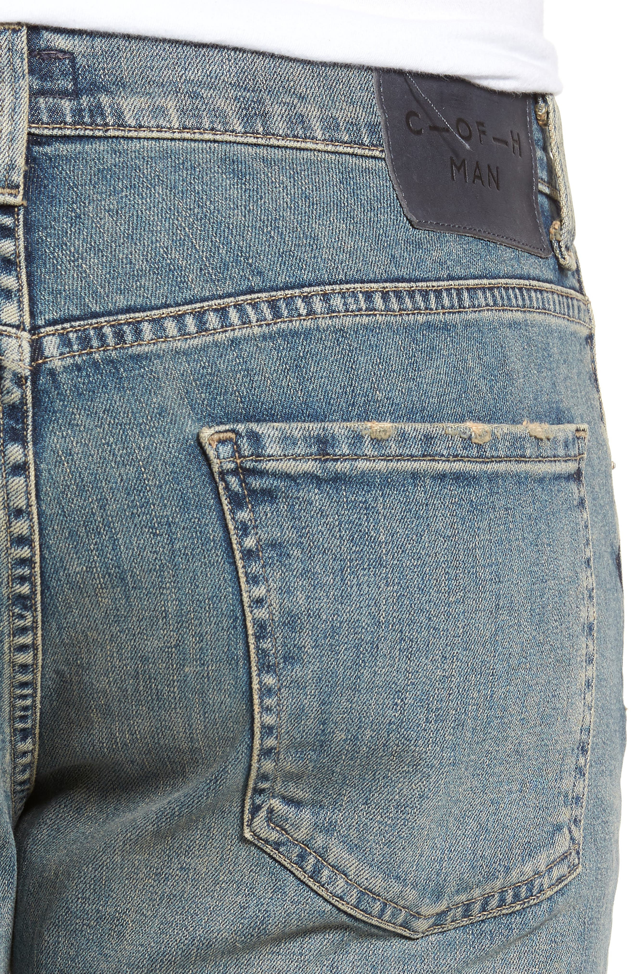 Sid Straight Leg Jeans,                             Alternate thumbnail 4, color,                             URIEL