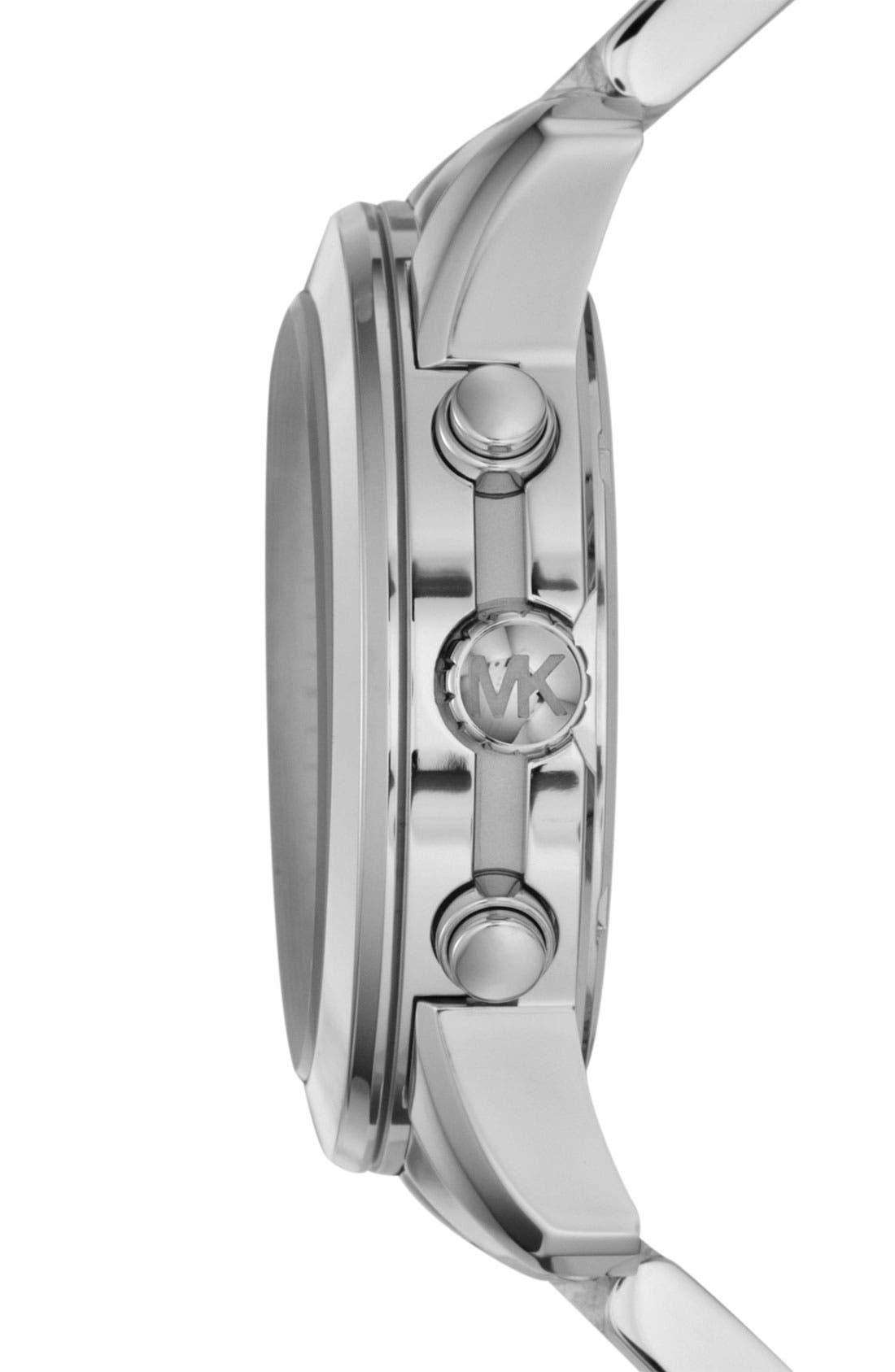 Michael Kors 'Mercer' Chronograph Bracelet Watch, 41mm,                             Alternate thumbnail 3, color,                             040