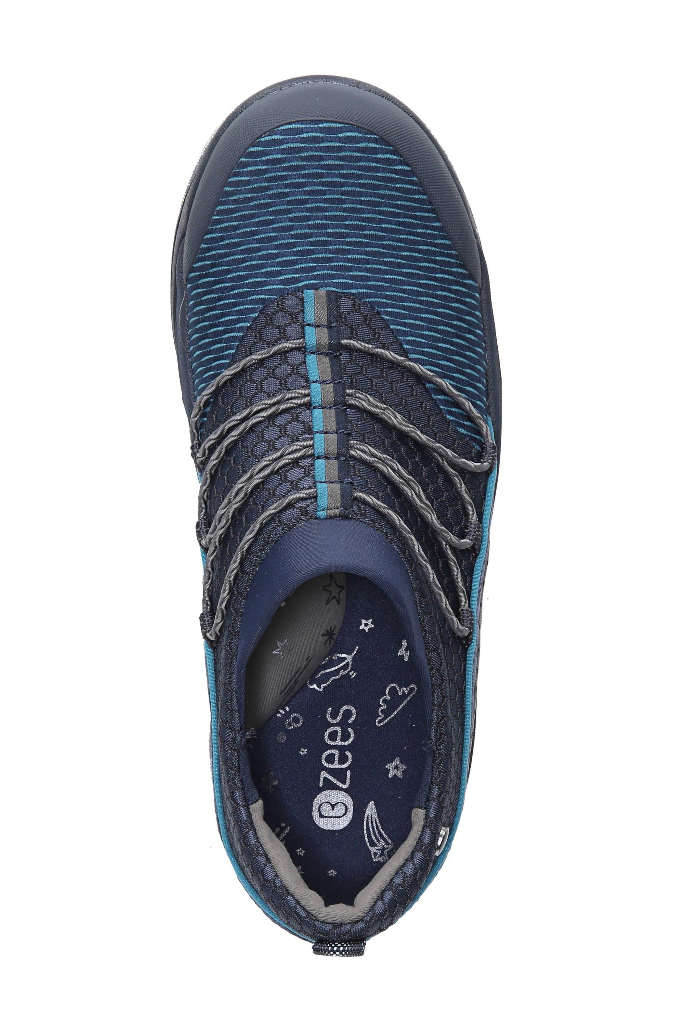 Pisces Slip-On Sneaker,                             Alternate thumbnail 5, color,                             NAVY