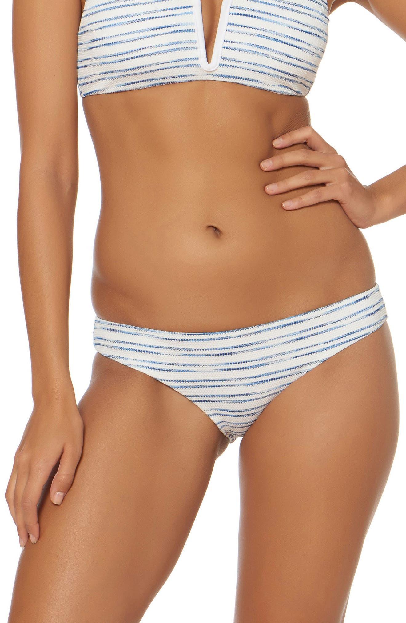 Shirred Hipster Bikini Bottoms,                             Main thumbnail 1, color,                             168