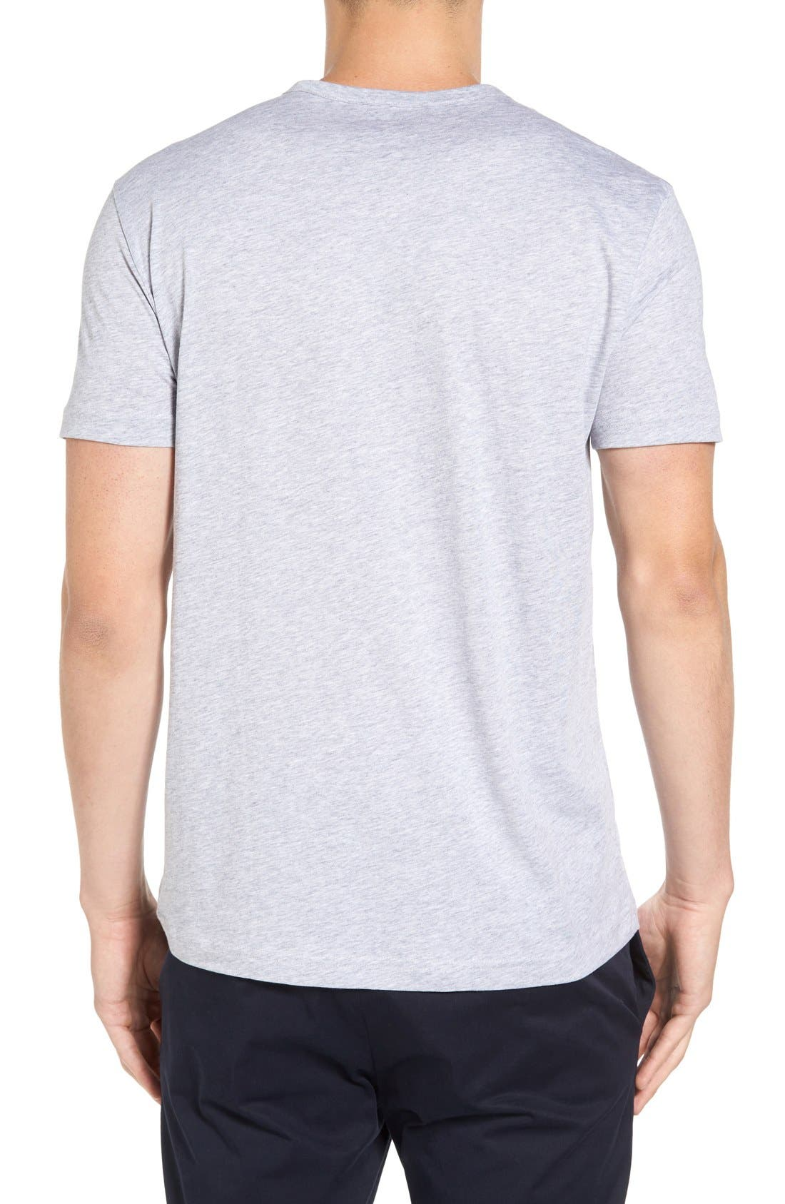 Henley T-Shirt,                             Alternate thumbnail 6, color,