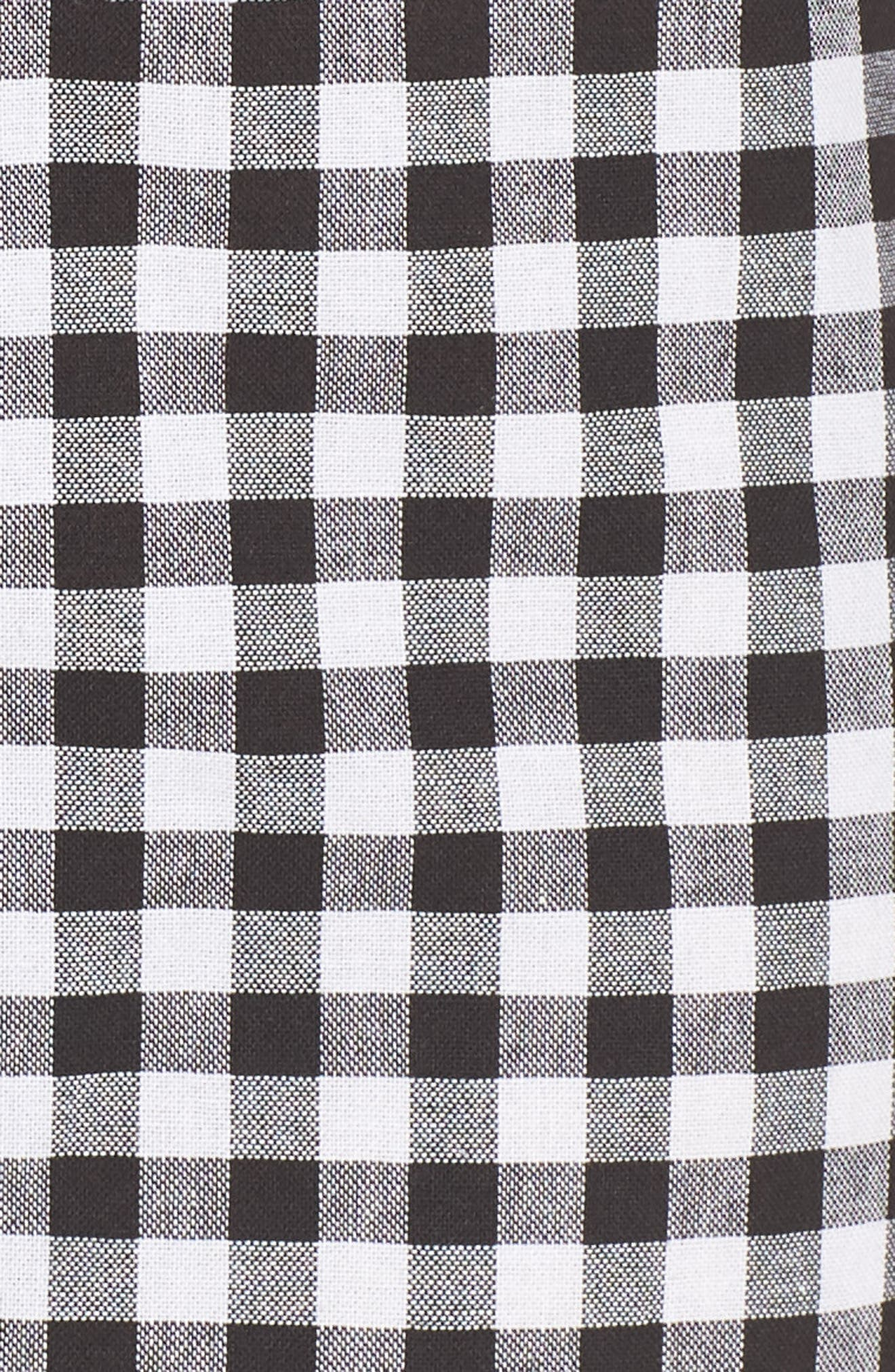 Idyllic Gingham Dress,                             Alternate thumbnail 5, color,